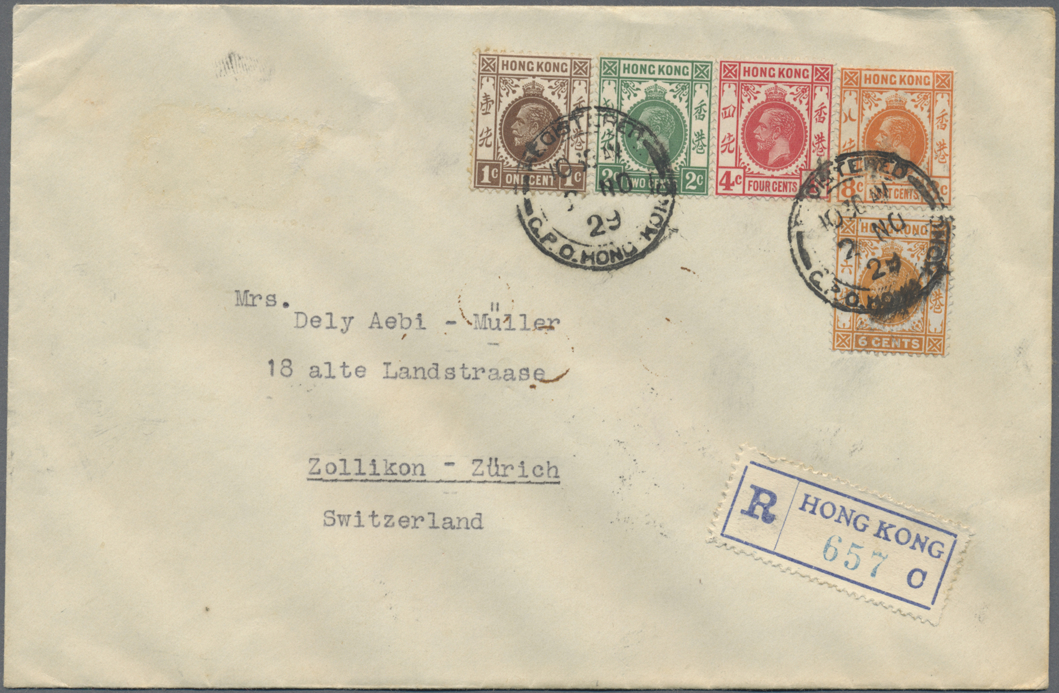 Lot 34659 - hongkong  -  Auktionshaus Christoph Gärtner GmbH & Co. KG Sale #44 Collections Germany