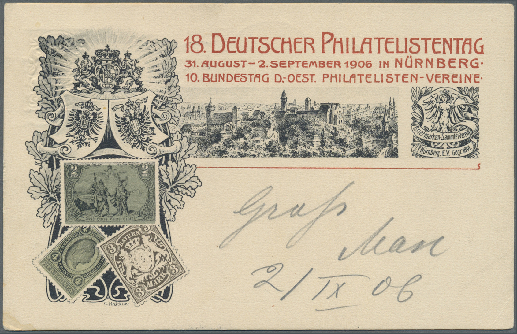 Lot 36327 - bayern - ganzsachen  -  Auktionshaus Christoph Gärtner GmbH & Co. KG Collections Germany,  Collections Supplement, Surprise boxes #39 Day 7