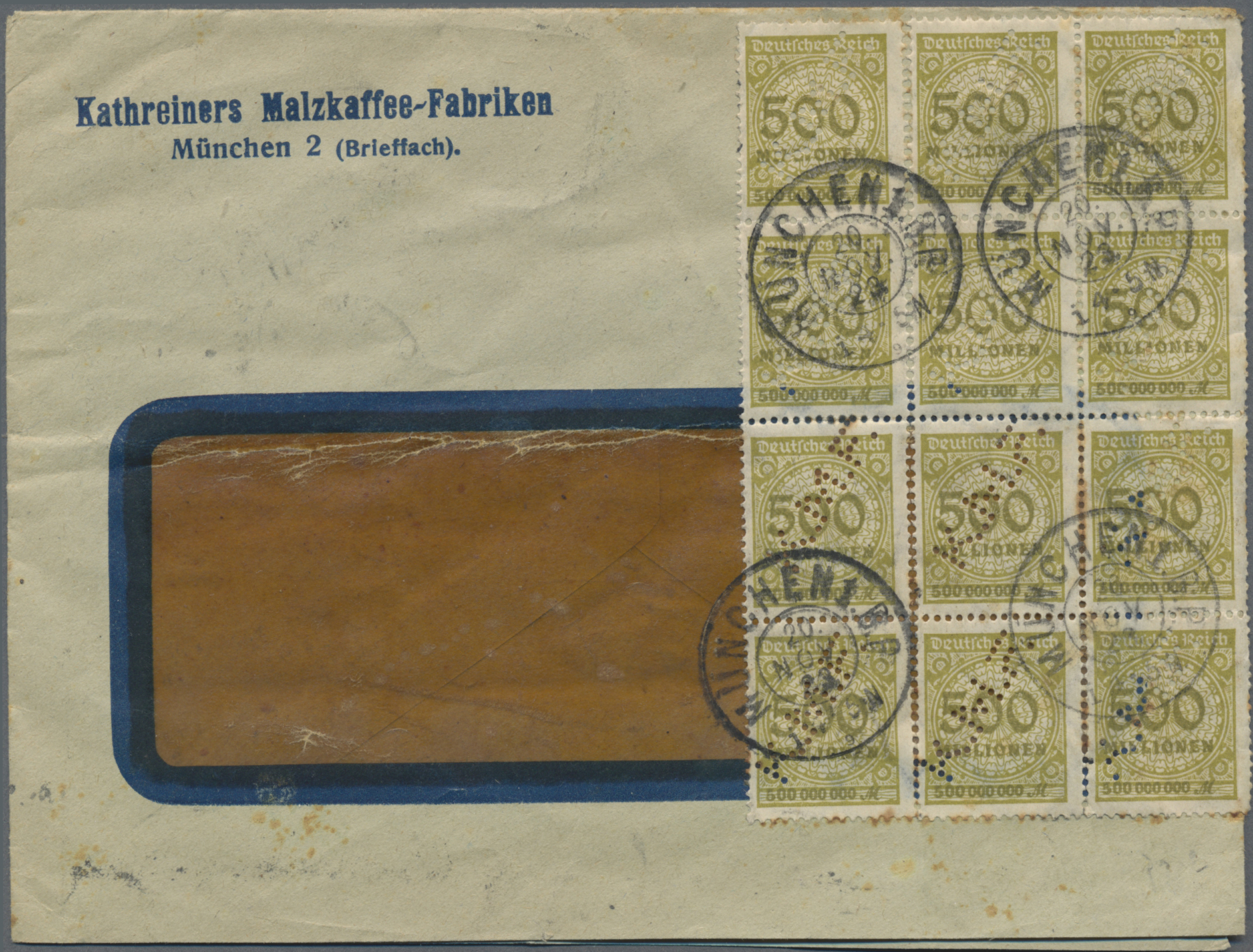 Lot 34845 - Thematik: Nahrung-Kaffee / food-coffee  -  Auktionshaus Christoph Gärtner GmbH & Co. KG Sale #44 Collections Germany