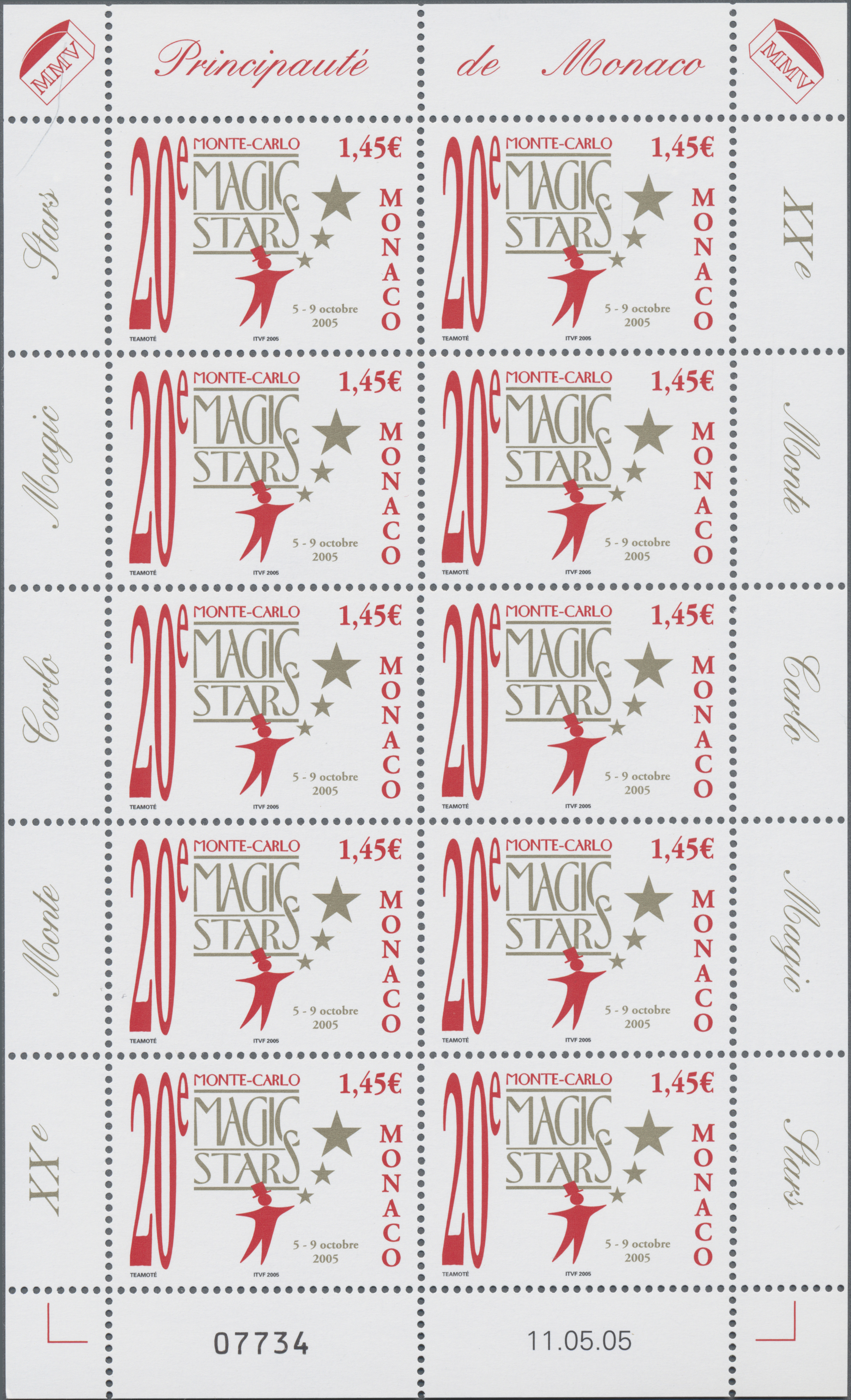 Lot 34997 - Monaco  -  Auktionshaus Christoph Gärtner GmbH & Co. KG Sale #44 Collections Germany