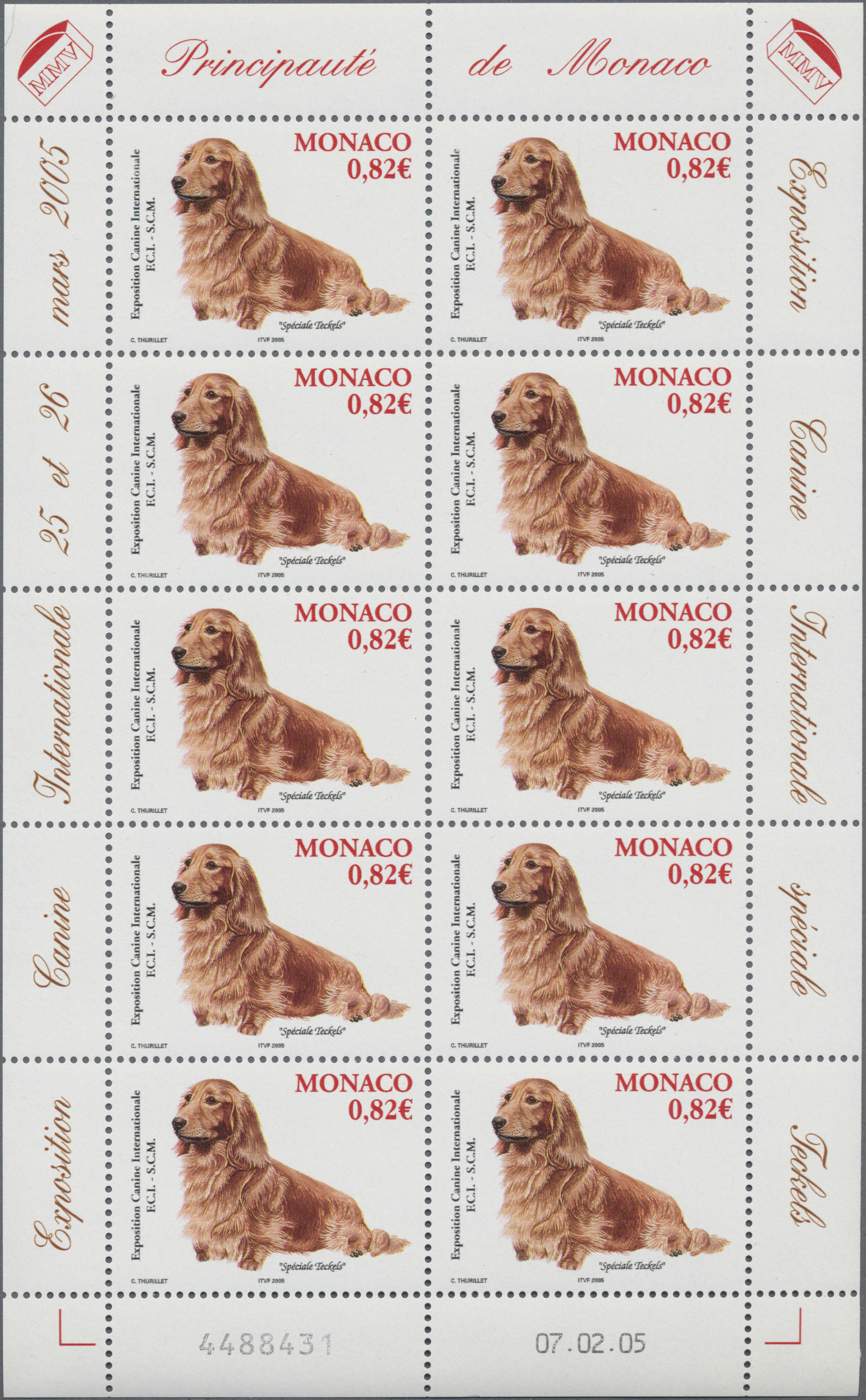 Lot 34990 - Monaco  -  Auktionshaus Christoph Gärtner GmbH & Co. KG Sale #44 Collections Germany