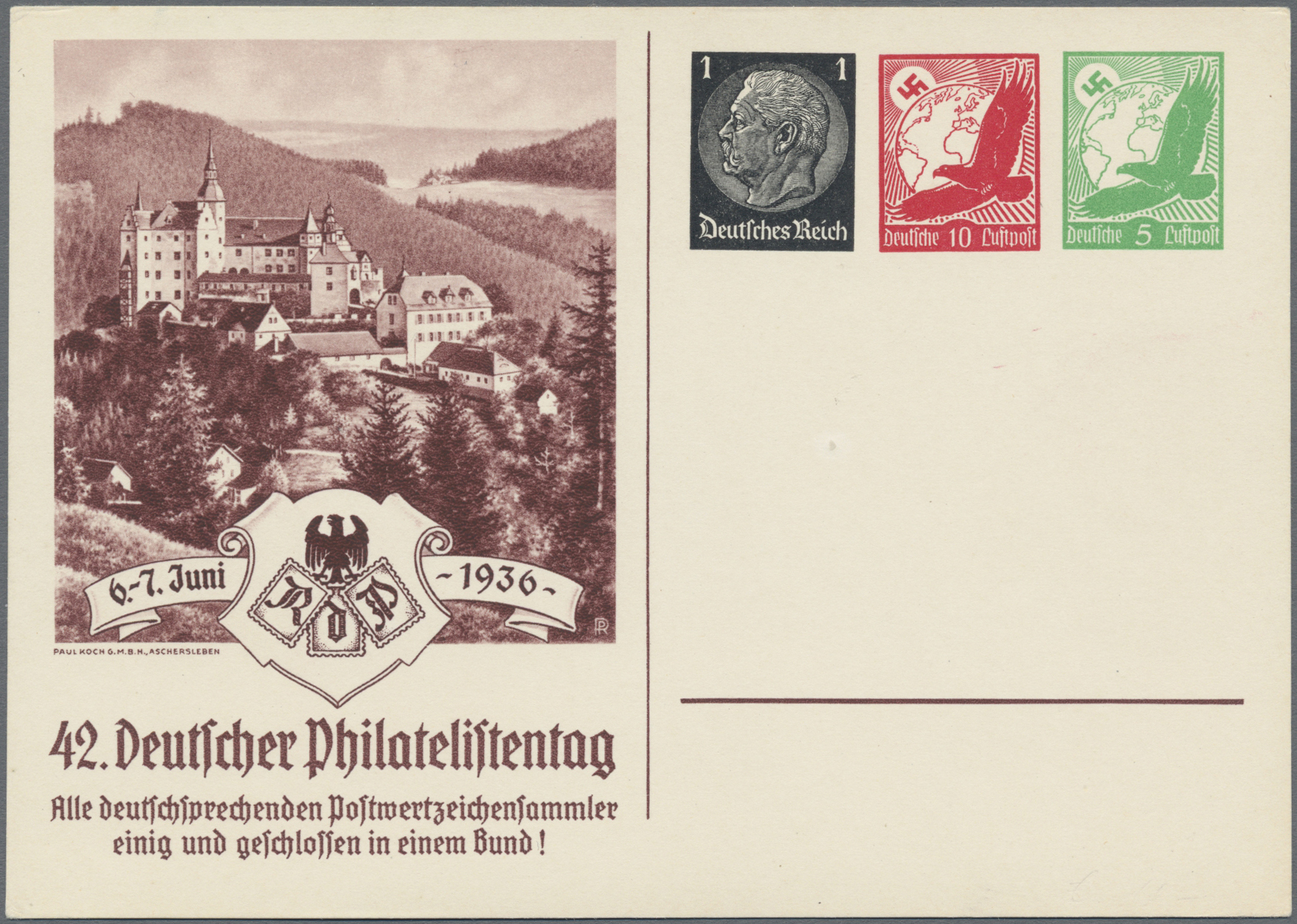 Lot 23547 - Deutsches Reich - Privatganzsachen  -  Auktionshaus Christoph Gärtner GmbH & Co. KG Sale #49 Collections Overseas, Thematics, Europe, Germany/Estates