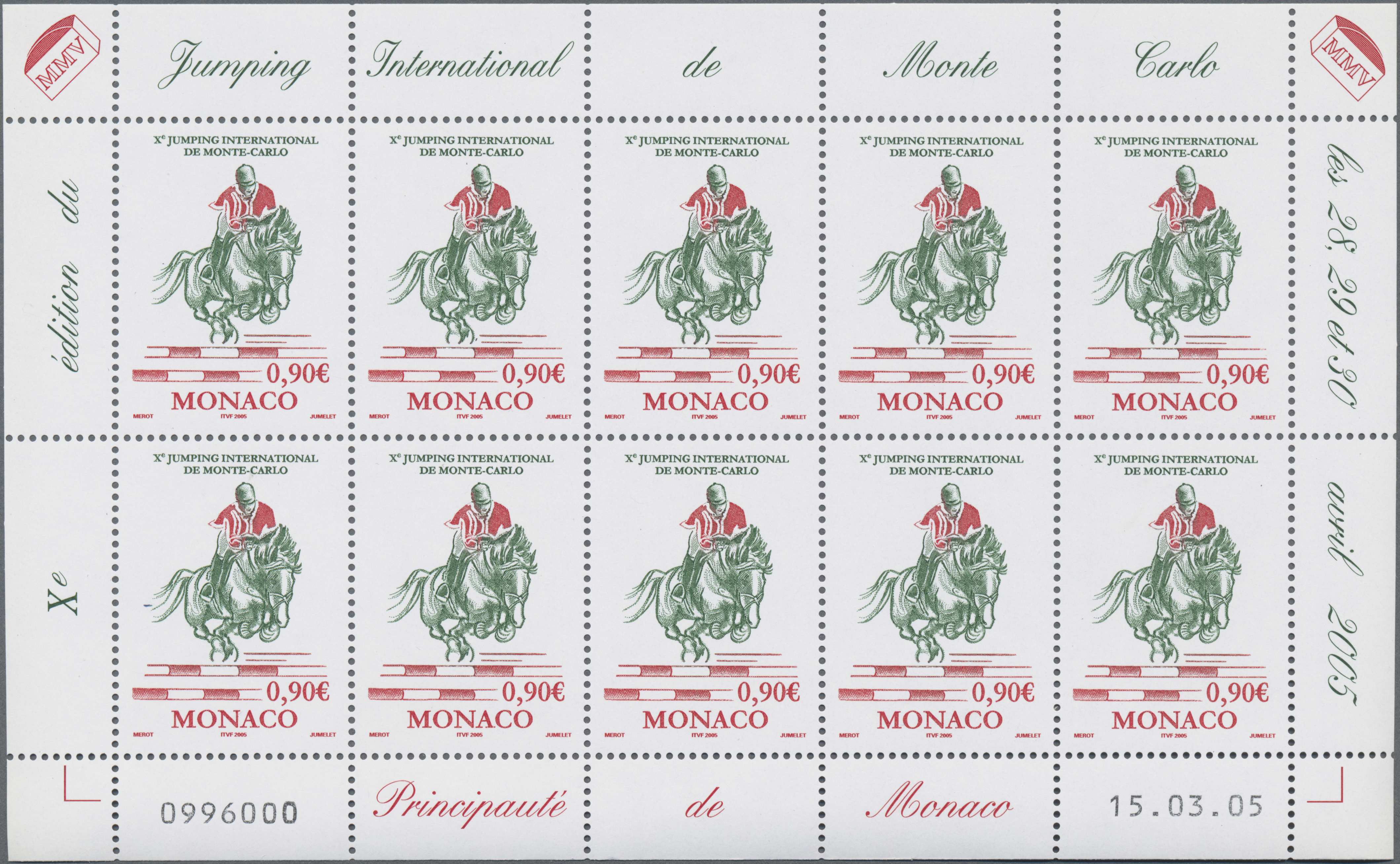 Lot 34992 - Monaco  -  Auktionshaus Christoph Gärtner GmbH & Co. KG Sale #44 Collections Germany