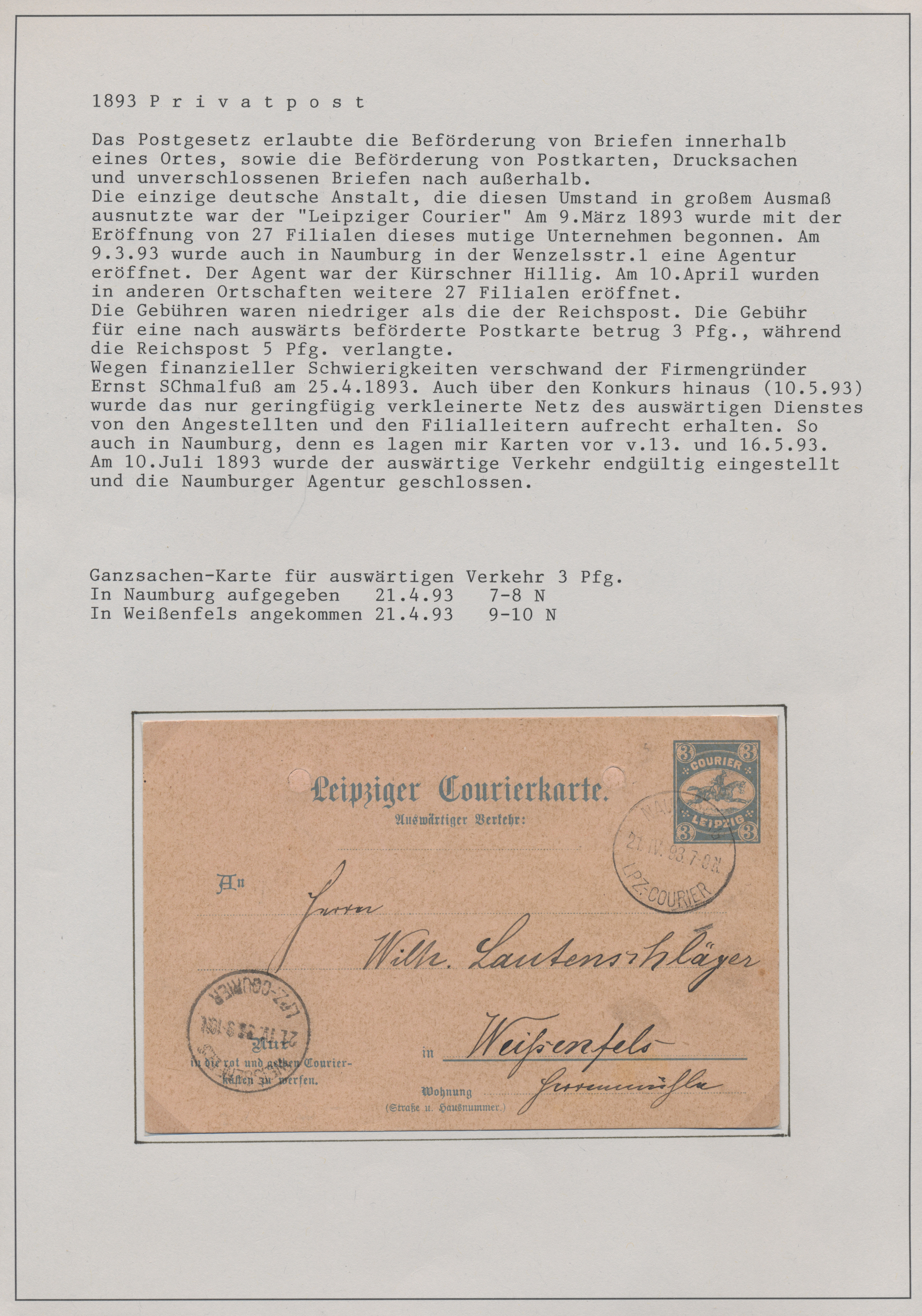 Lot 36081 - Heimat: Sachsen-Anhalt  -  Auktionshaus Christoph Gärtner GmbH & Co. KG Sale #44 Collections Germany