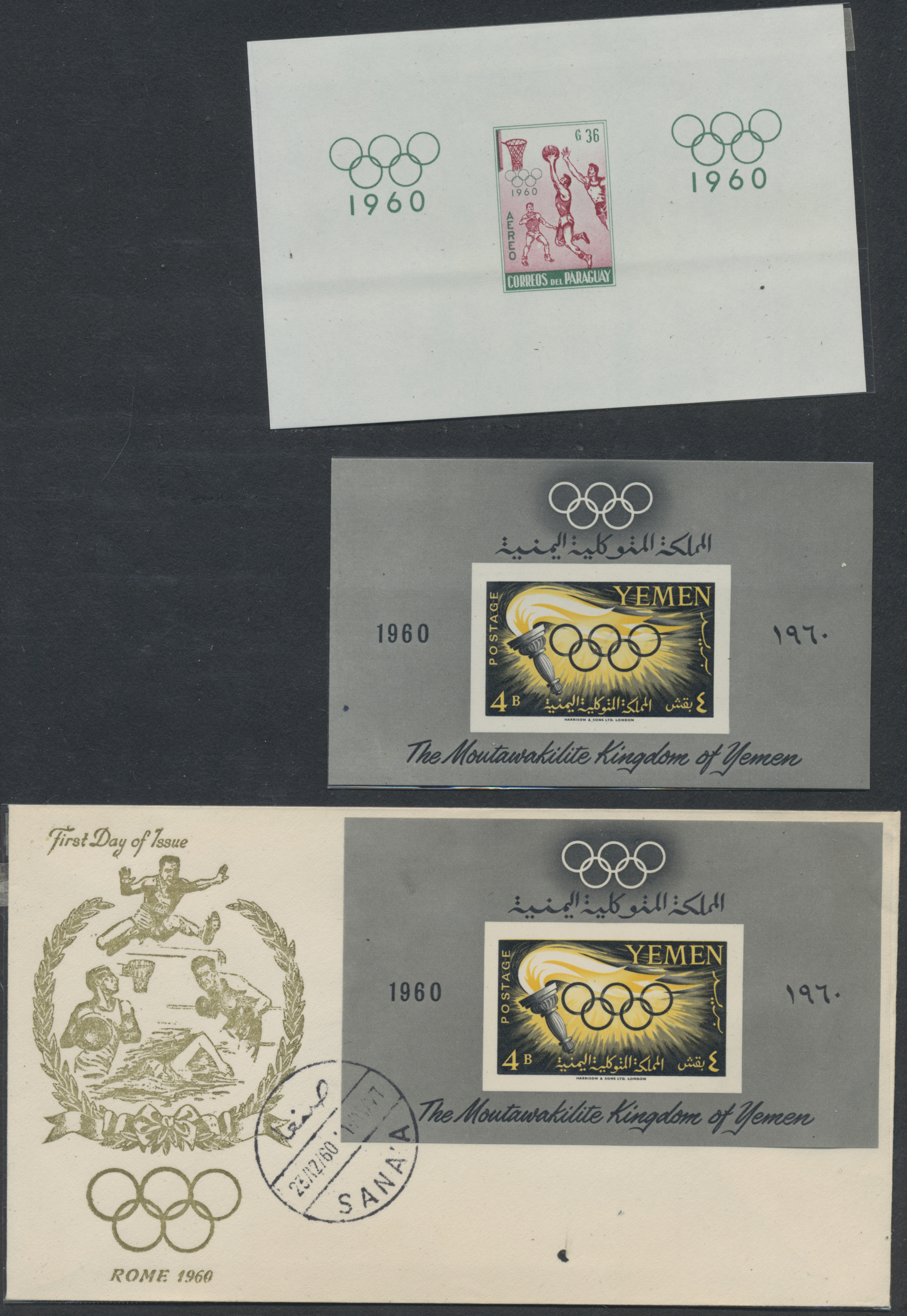 Lot 34855 - thematik: olympische spiele / olympic games  -  Auktionshaus Christoph Gärtner GmbH & Co. KG Sale #44 Collections Germany