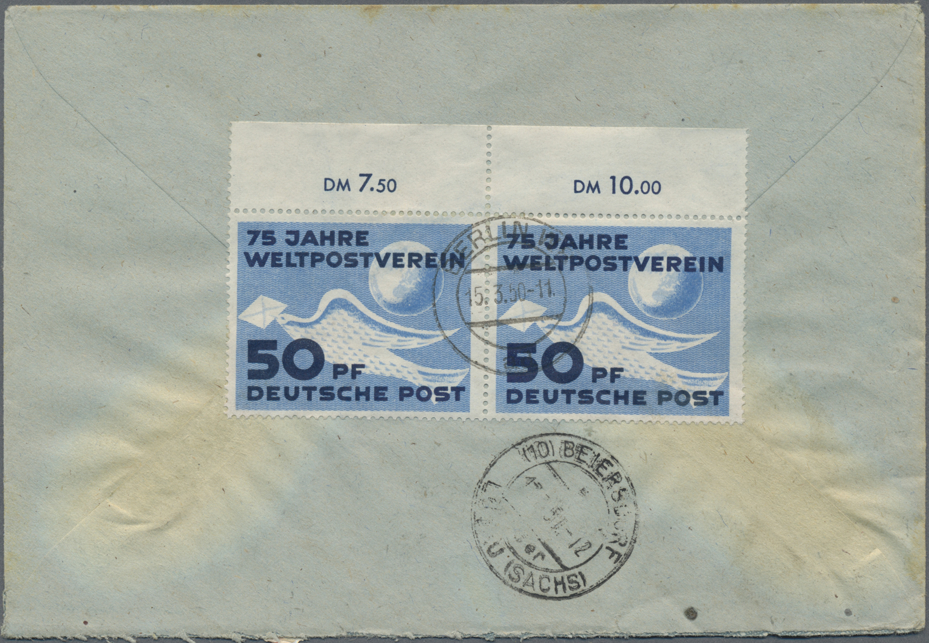 Lot 37371 - ddr  -  Auktionshaus Christoph Gärtner GmbH & Co. KG Sale #44 Collections Germany