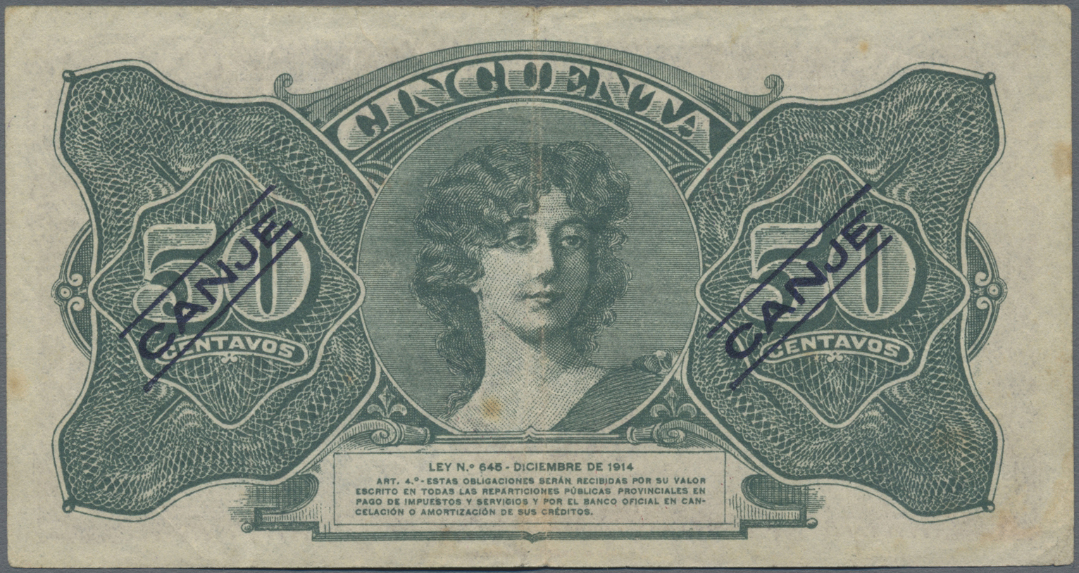 Lot 00021 - Argentina / Argentinien | Banknoten  -  Auktionshaus Christoph Gärtner GmbH & Co. KG Sale #48 The Banknotes