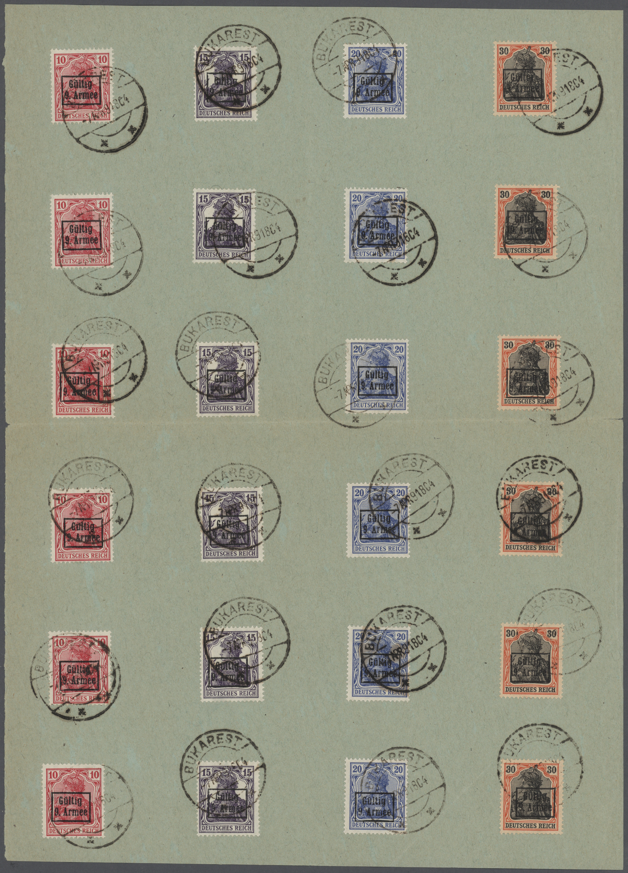 Lot 37312 - deutsche besetzung i. wk  -  Auktionshaus Christoph Gärtner GmbH & Co. KG Collections Germany,  Collections Supplement, Surprise boxes #39 Day 7