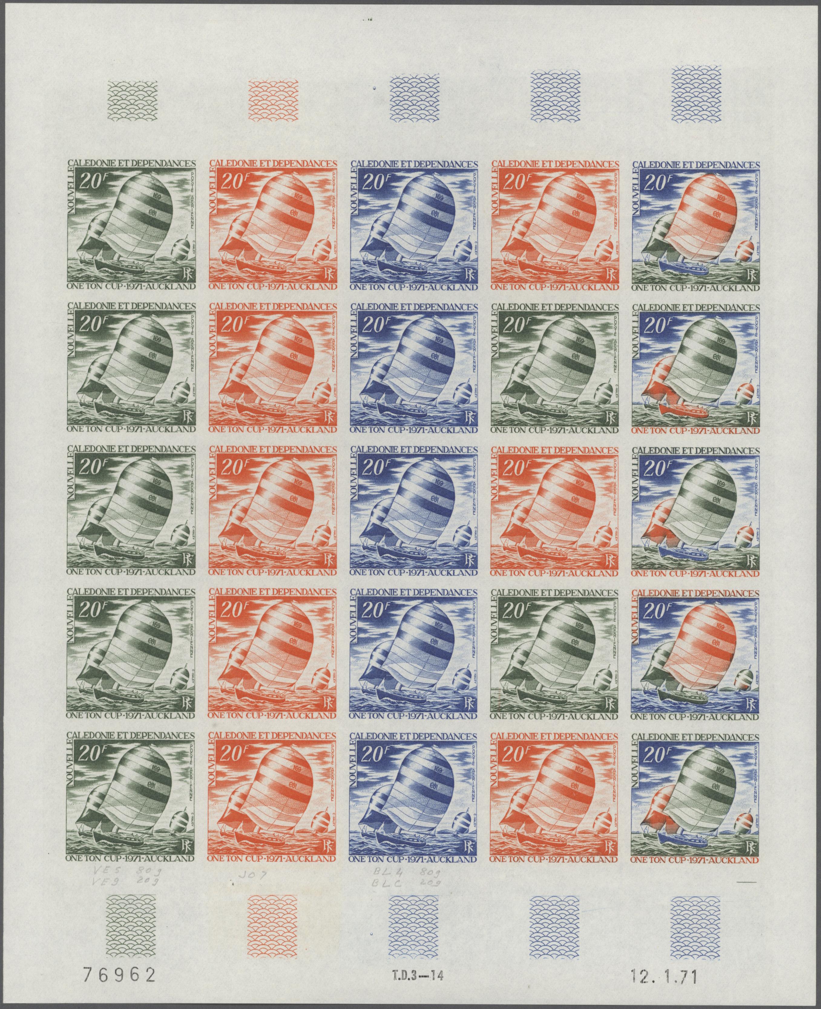 Lot 34735 - neukaledonien  -  Auktionshaus Christoph Gärtner GmbH & Co. KG Sale #44 Collections Germany