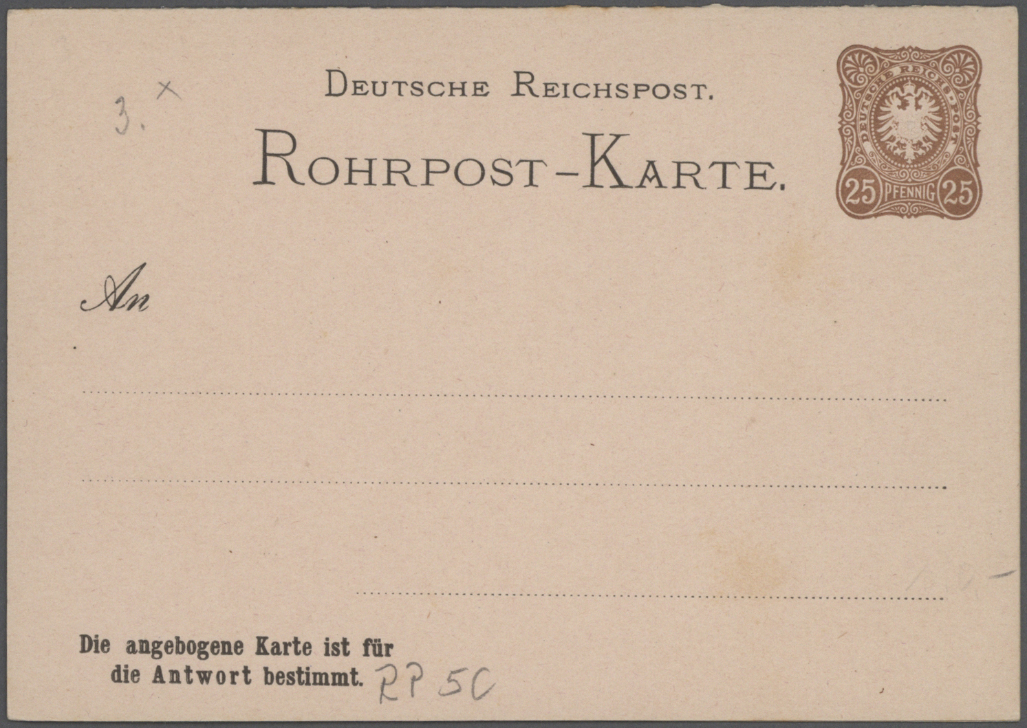 Lot 37103 - Deutsches Reich - Ganzsachen  -  Auktionshaus Christoph Gärtner GmbH & Co. KG Collections Germany,  Collections Supplement, Surprise boxes #39 Day 7