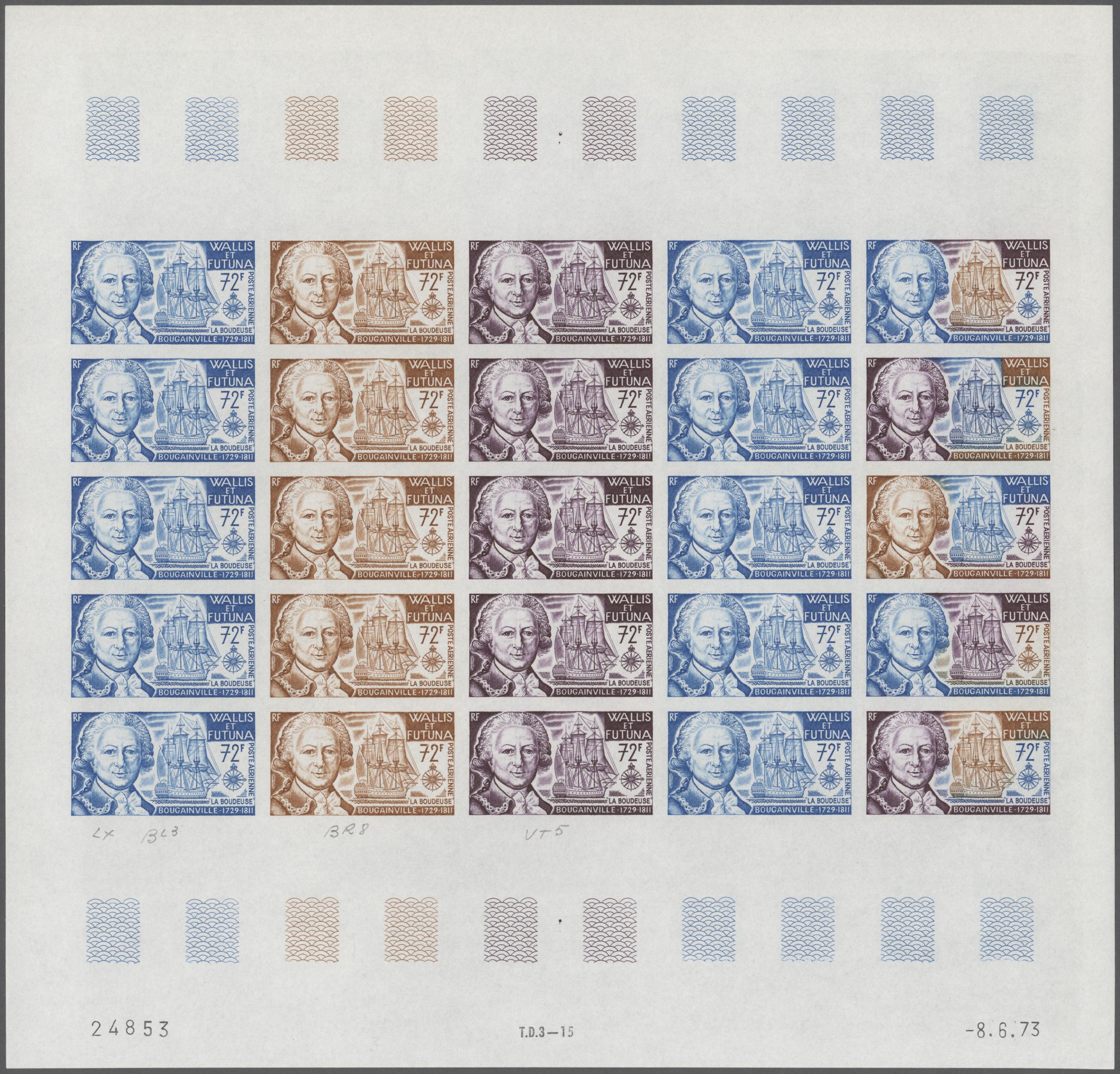 Lot 34786 - wallis- und futuna-inseln  -  Auktionshaus Christoph Gärtner GmbH & Co. KG Sale #44 Collections Germany
