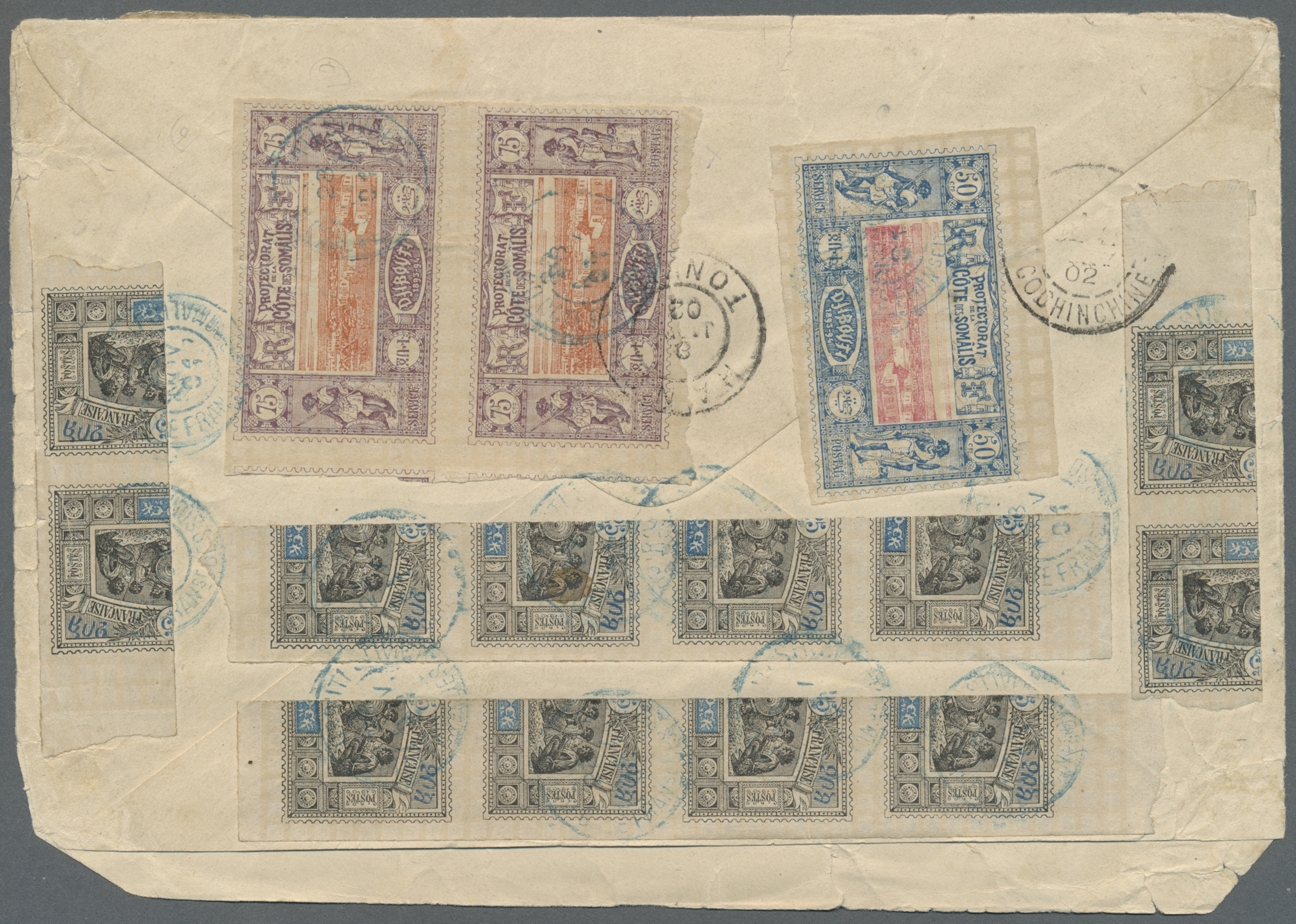 Lot 485 - französische somaliküste  -  Auktionshaus Christoph Gärtner GmbH & Co. KG Auction #41 Special auction part one