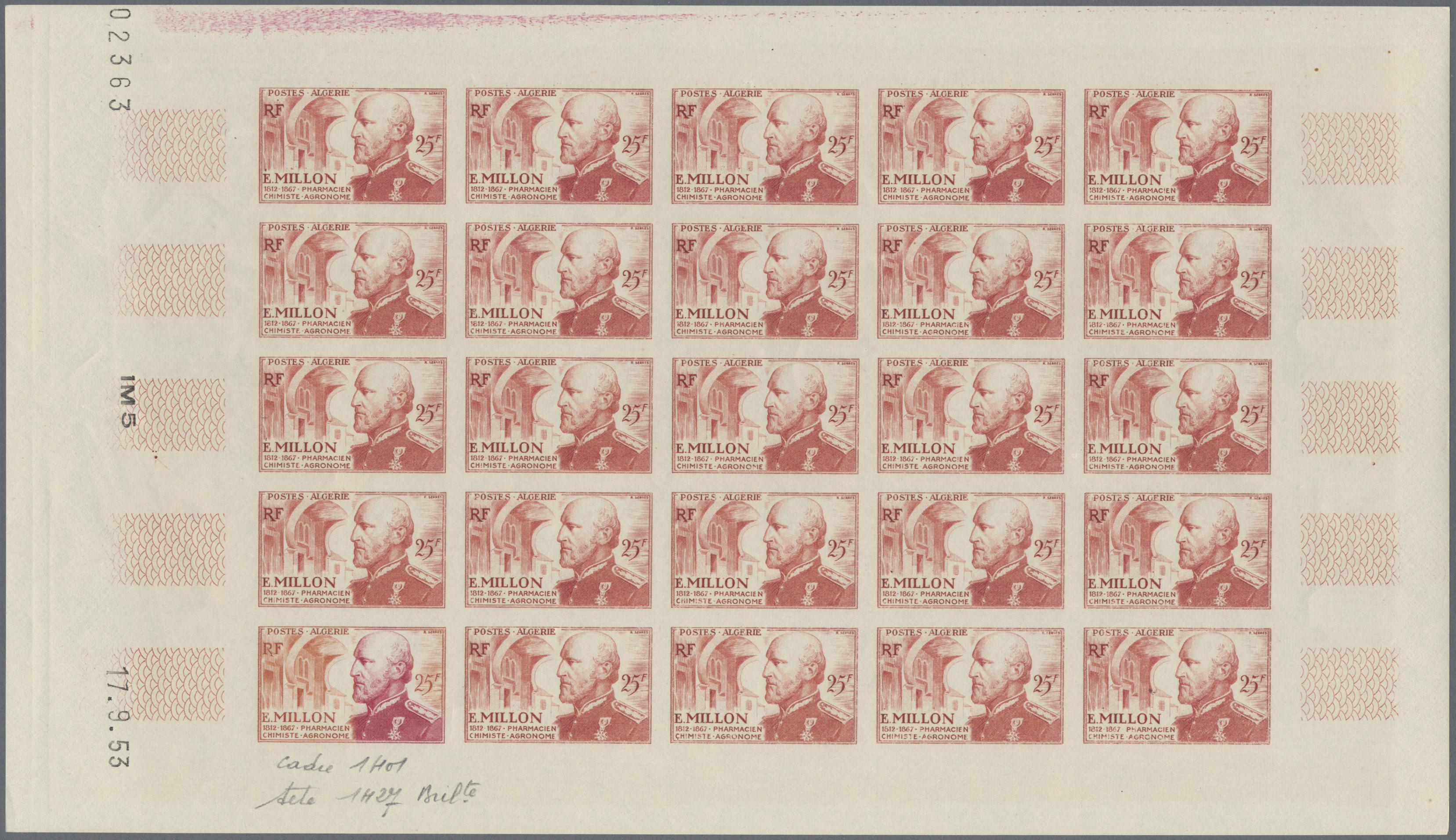 Lot 34532 - algerien  -  Auktionshaus Christoph Gärtner GmbH & Co. KG Sale #44 Collections Germany