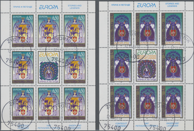 Lot 34904 - Bosnien und Herzegowina - Serbische Republik  -  Auktionshaus Christoph Gärtner GmbH & Co. KG Sale #44 Collections Germany