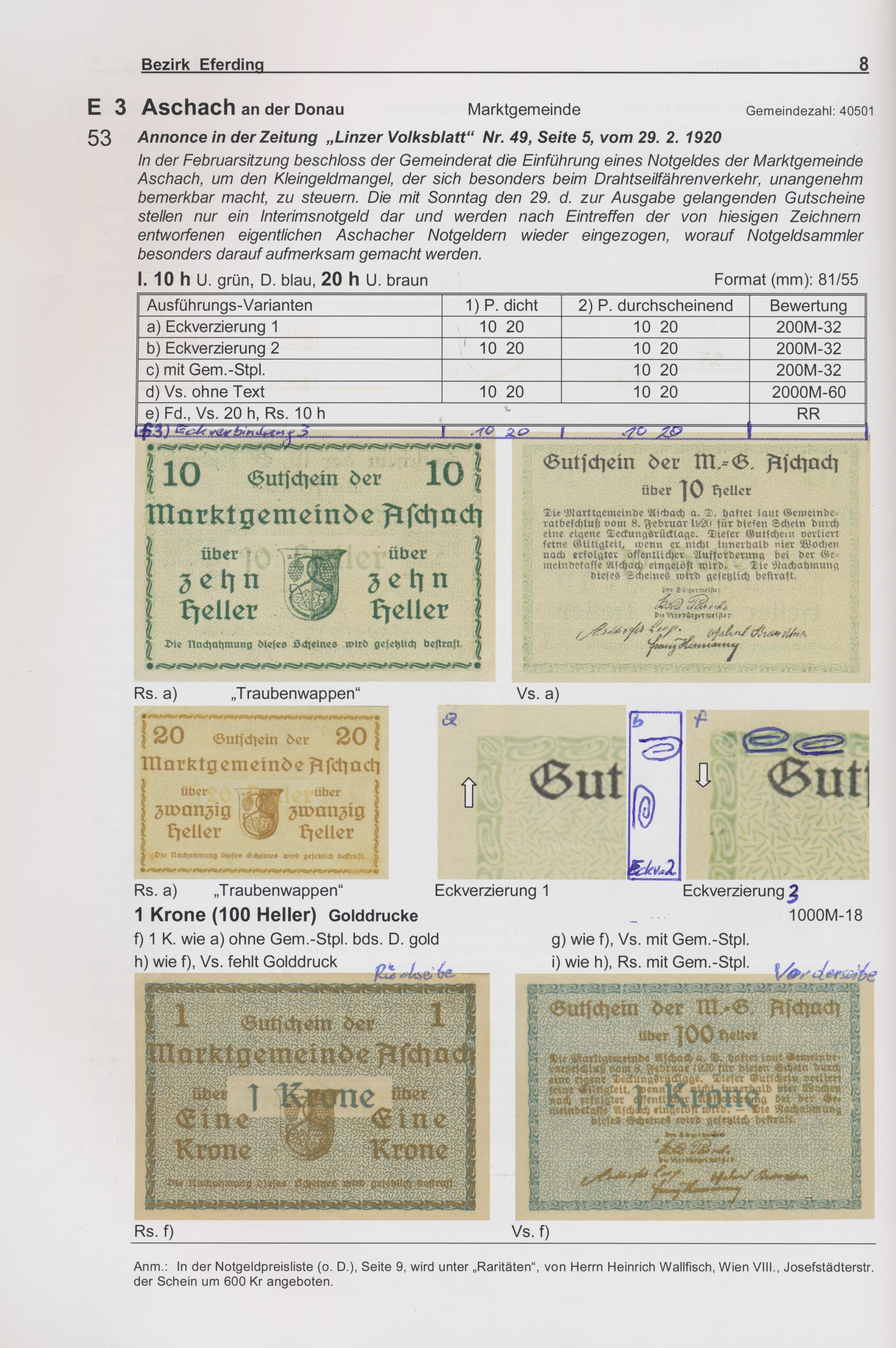Lot 01010 - Austria / Österreich | Banknoten  -  Auktionshaus Christoph Gärtner GmbH & Co. KG Sale #48 The Banknotes