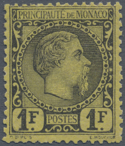 Lot 1541 - Monaco  -  Auktionshaus Christoph Gärtner GmbH & Co. KG Auction #41 Special auction part two