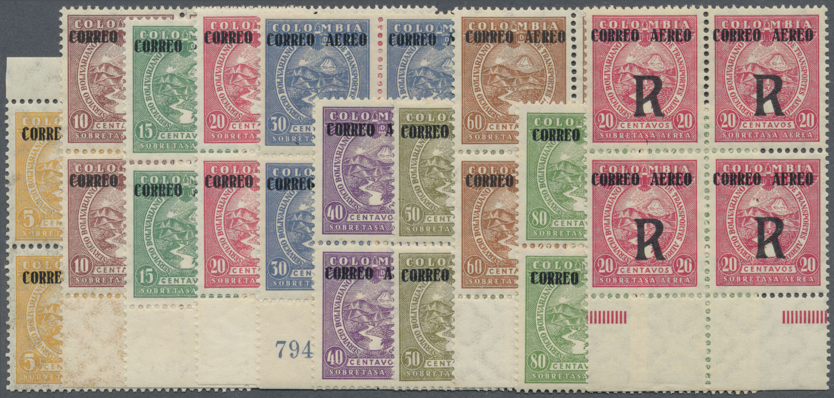 Lot 13936 - kolumbien  -  Auktionshaus Christoph Gärtner GmbH & Co. KG Single lots Philately Overseas & Europe. Auction #39 Day 4