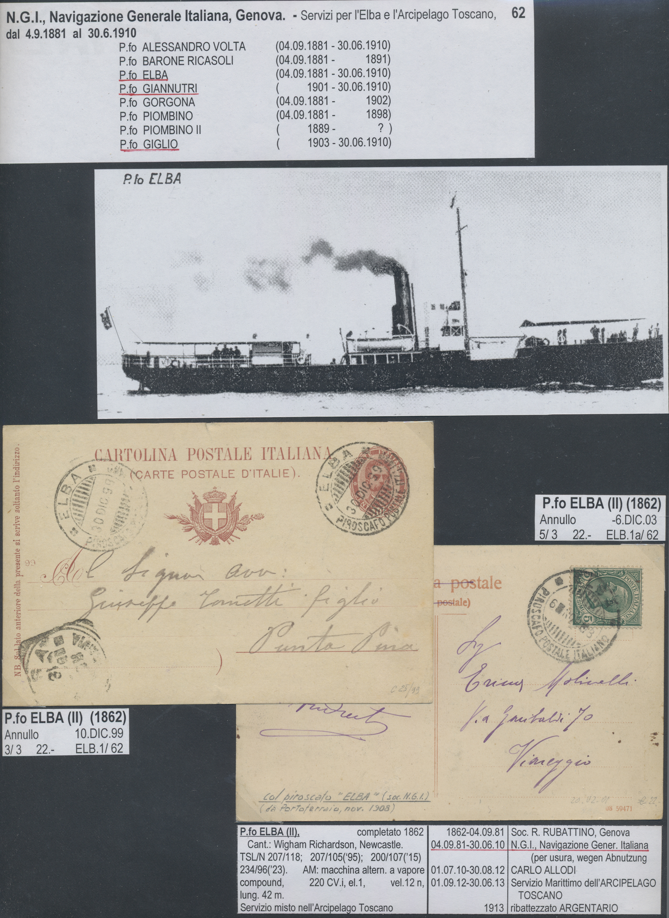 Lot 18640 - Italien - Stempel  -  Auktionshaus Christoph Gärtner GmbH & Co. KG 50th Auction Anniversary Auction - Day 5