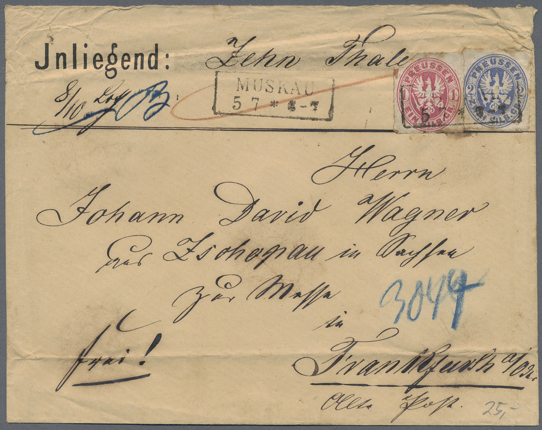 Lot 36435 - Preußen - Marken und Briefe  -  Auktionshaus Christoph Gärtner GmbH & Co. KG Collections Germany,  Collections Supplement, Surprise boxes #39 Day 7