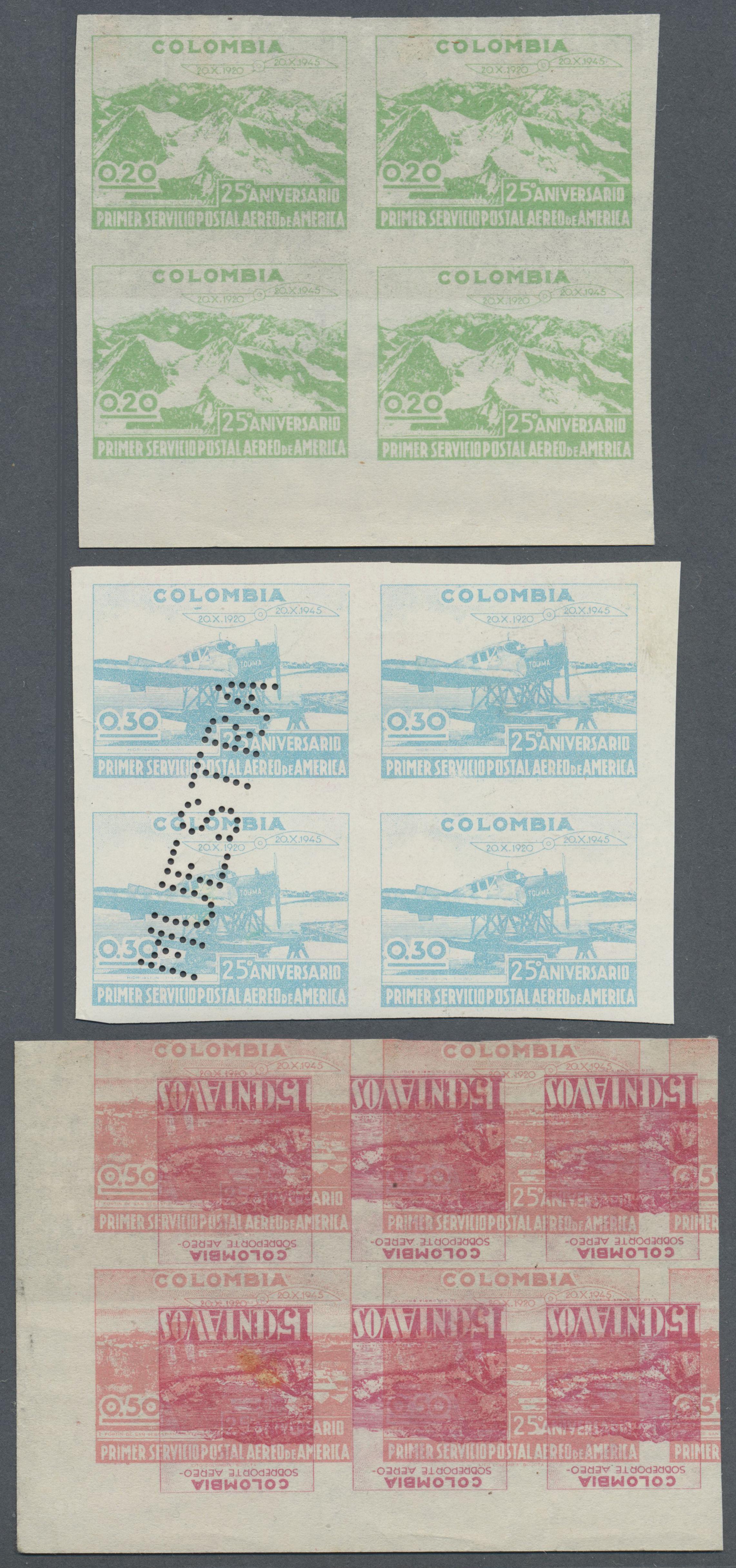 Lot 13939 - kolumbien  -  Auktionshaus Christoph Gärtner GmbH & Co. KG Single lots Philately Overseas & Europe. Auction #39 Day 4