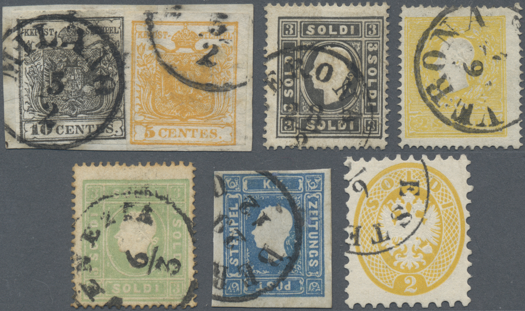 Lot 35015 - Österreich - Lombardei und Venetien  -  Auktionshaus Christoph Gärtner GmbH & Co. KG Sale #44 Collections Germany
