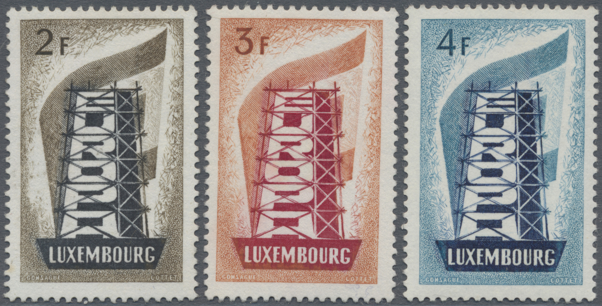 Lot 22258 - luxemburg  -  Auktionshaus Christoph Gärtner GmbH & Co. KG Sale #47 Collections: Overseas, Thematics, Europe