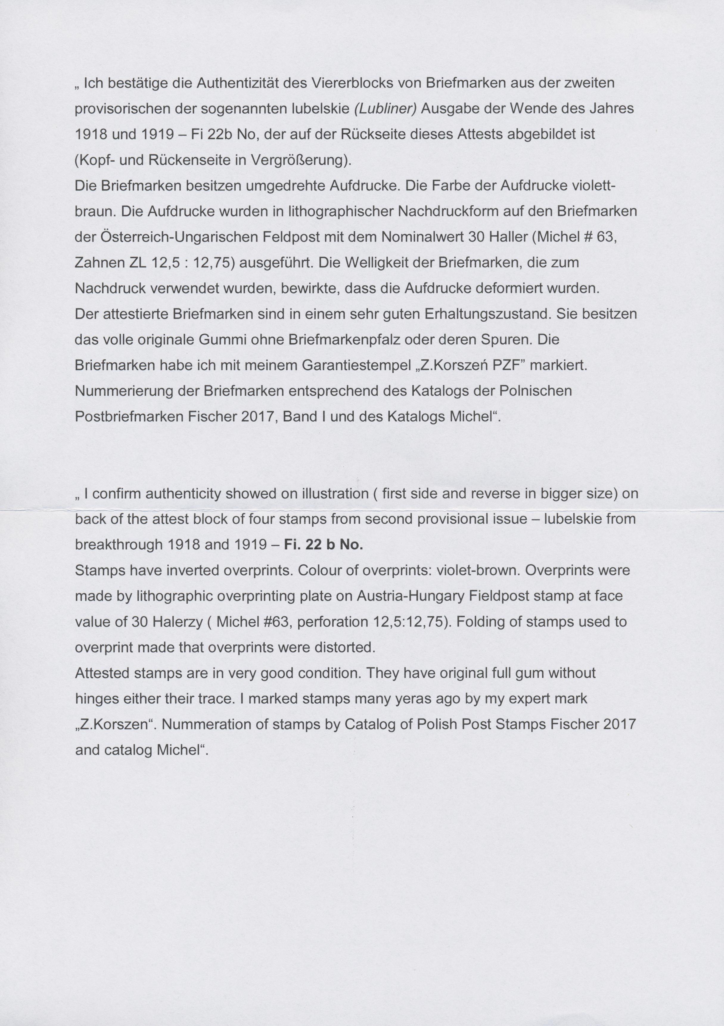 Lot 1557 - polen  -  Auktionshaus Christoph Gärtner GmbH & Co. KG Auction #41 Special auction part two