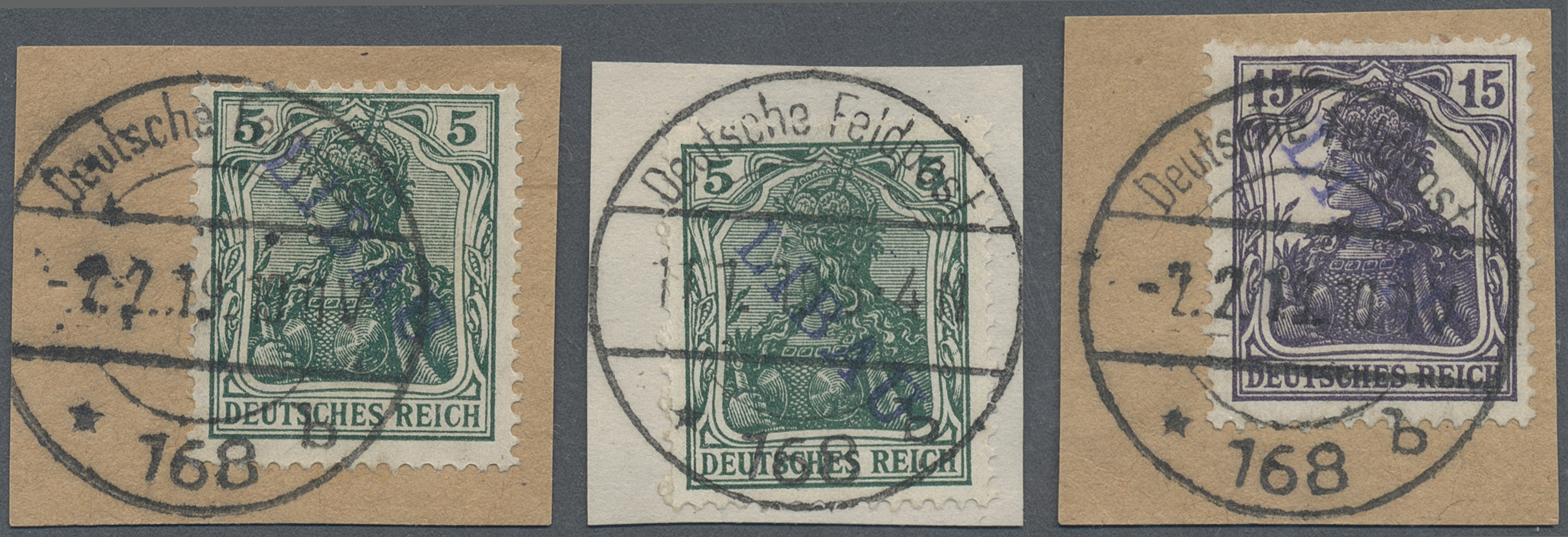 Lot 18857 - Deutsche Besetzung I. WK: Postgebiet Ober. Ost - Libau  -  Auktionshaus Christoph Gärtner GmbH & Co. KG Auction #40 Germany, Picture Post Cards, Collections Overseas, Thematics