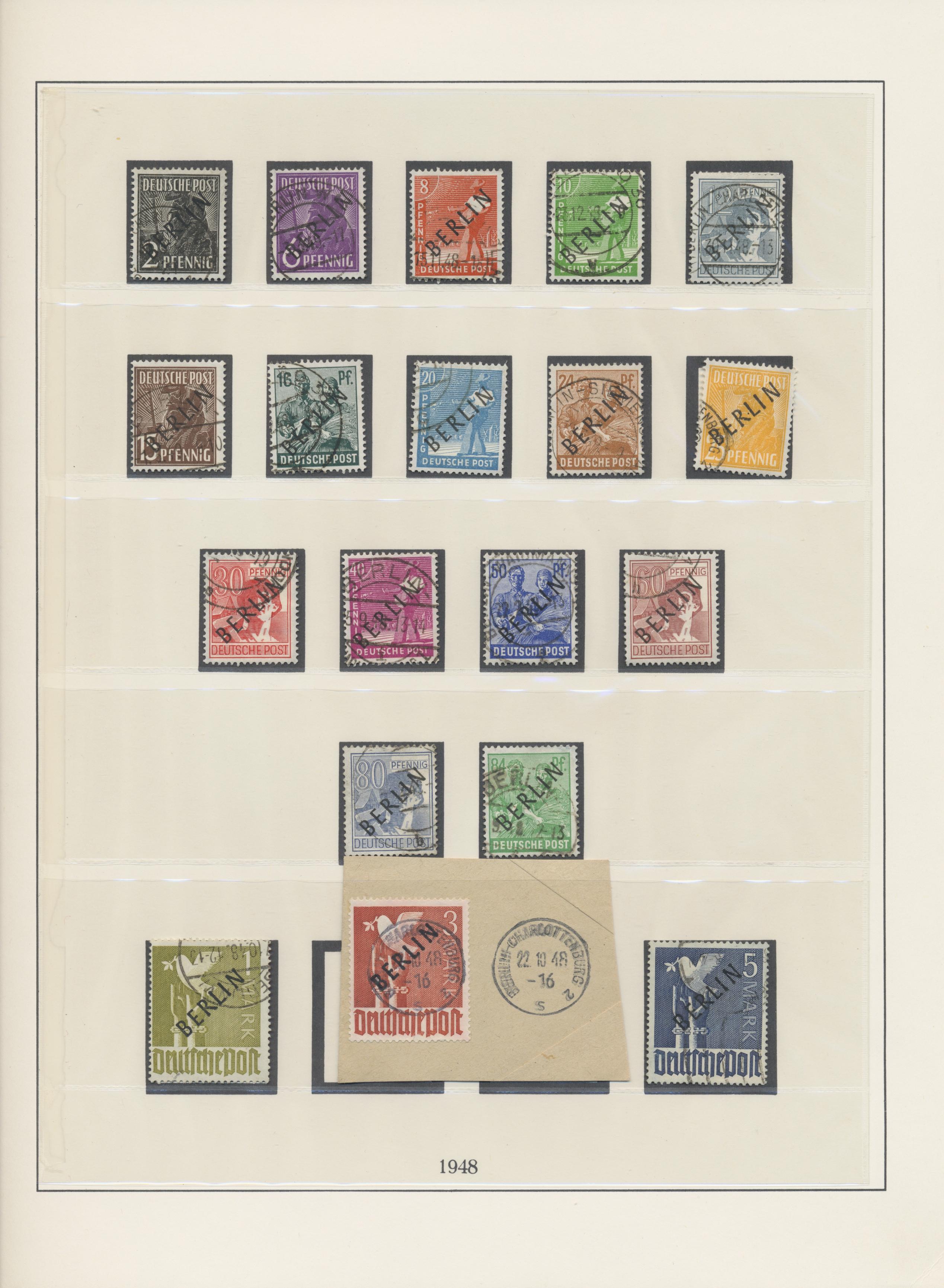 Lot 37417 - bundesrepublik und berlin  -  Auktionshaus Christoph Gärtner GmbH & Co. KG Sale #44 Collections Germany