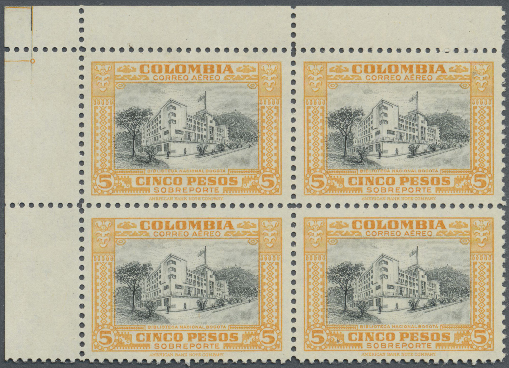 Lot 13942 - kolumbien  -  Auktionshaus Christoph Gärtner GmbH & Co. KG Single lots Philately Overseas & Europe. Auction #39 Day 4