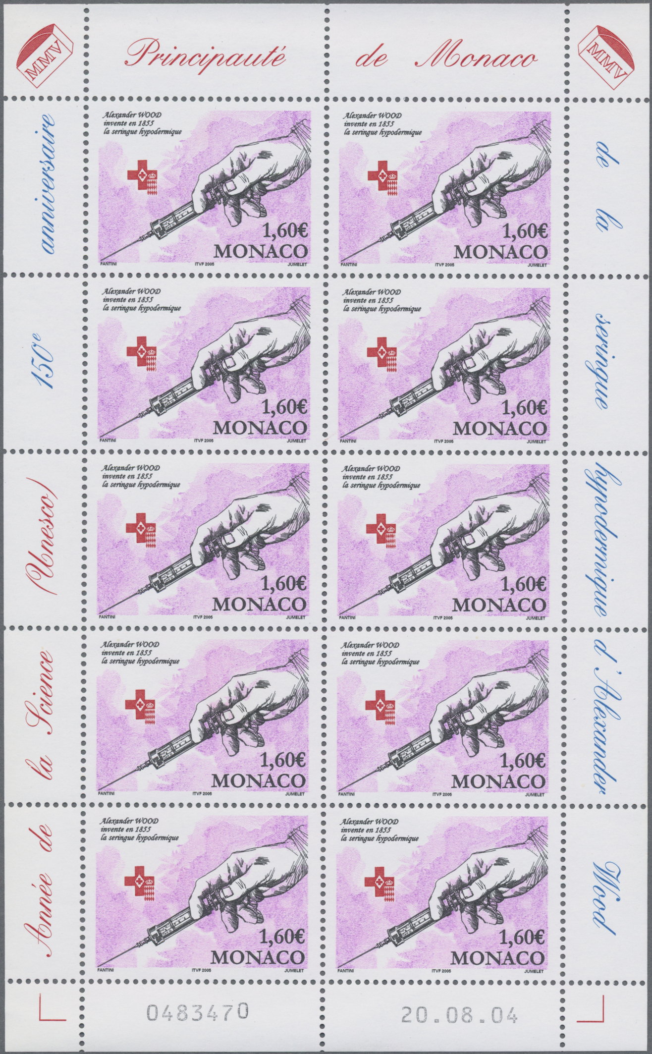 Lot 34982 - Monaco  -  Auktionshaus Christoph Gärtner GmbH & Co. KG Sale #44 Collections Germany