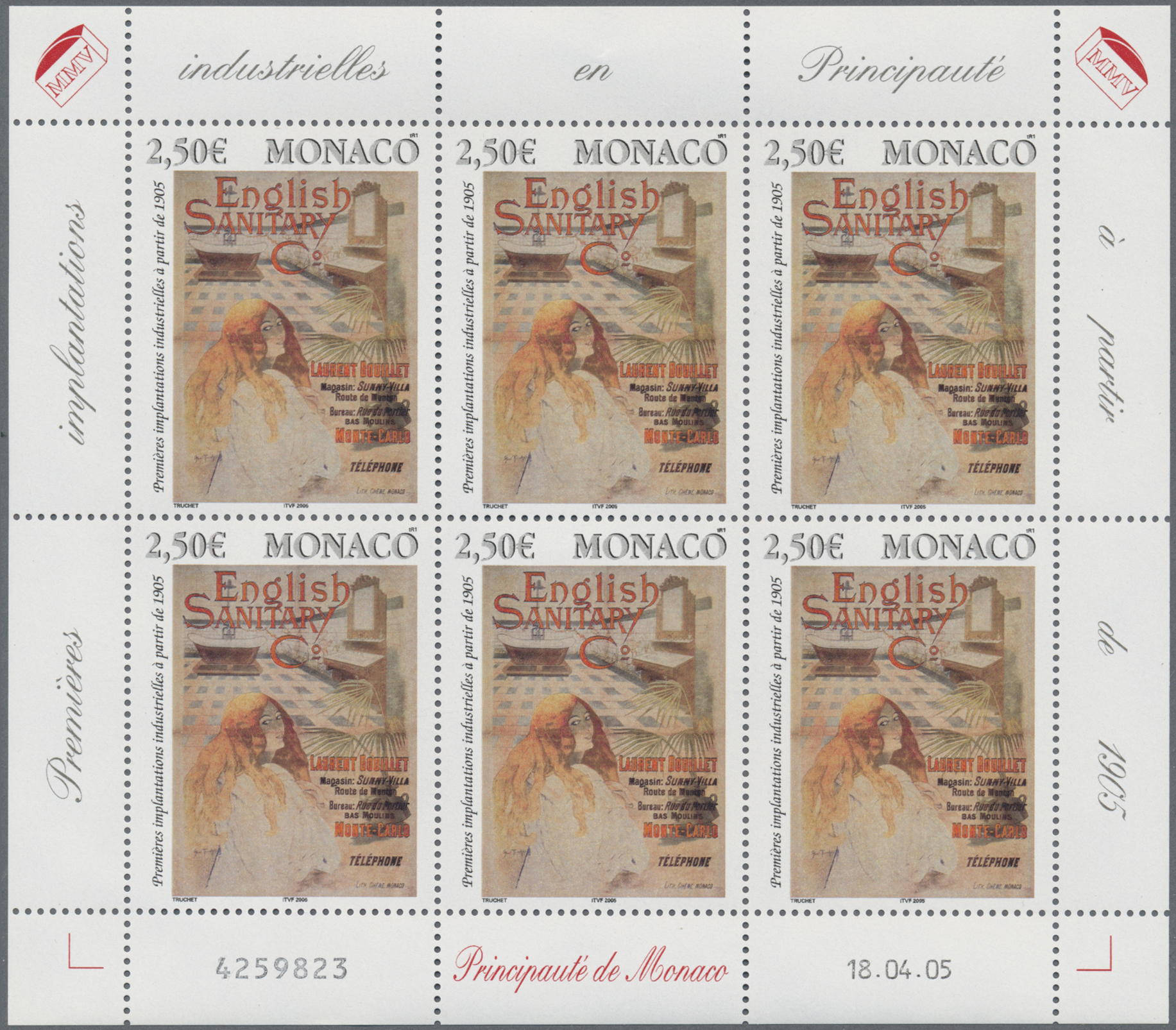 Lot 34994 - Monaco  -  Auktionshaus Christoph Gärtner GmbH & Co. KG Sale #44 Collections Germany
