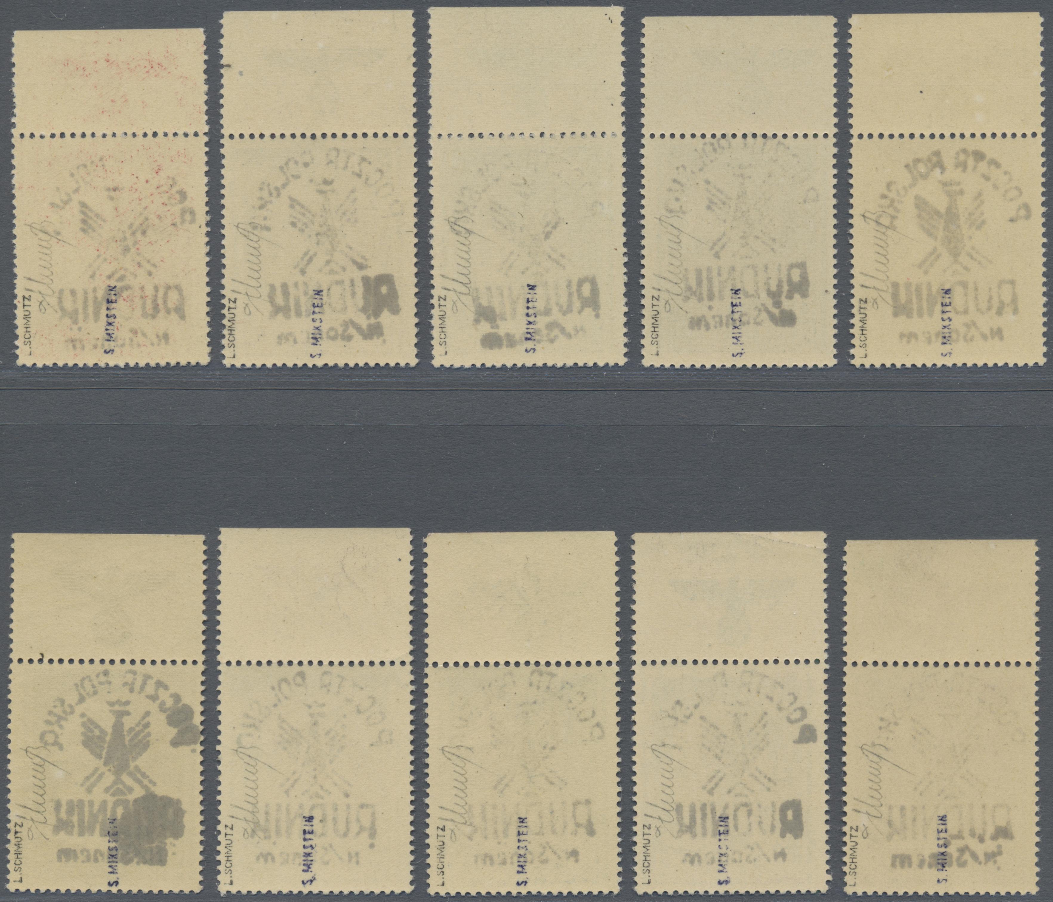 Lot 1575 - Polen - Lokalausgaben 1944/45  -  Auktionshaus Christoph Gärtner GmbH & Co. KG Auction #41 Special auction part two