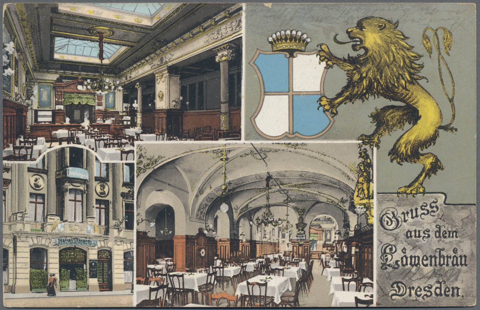 Lot 04592 - Ansichtskarten: Sachsen  -  Auktionshaus Christoph Gärtner GmbH & Co. KG Sale #48 The Coins & The Picture Post Cards