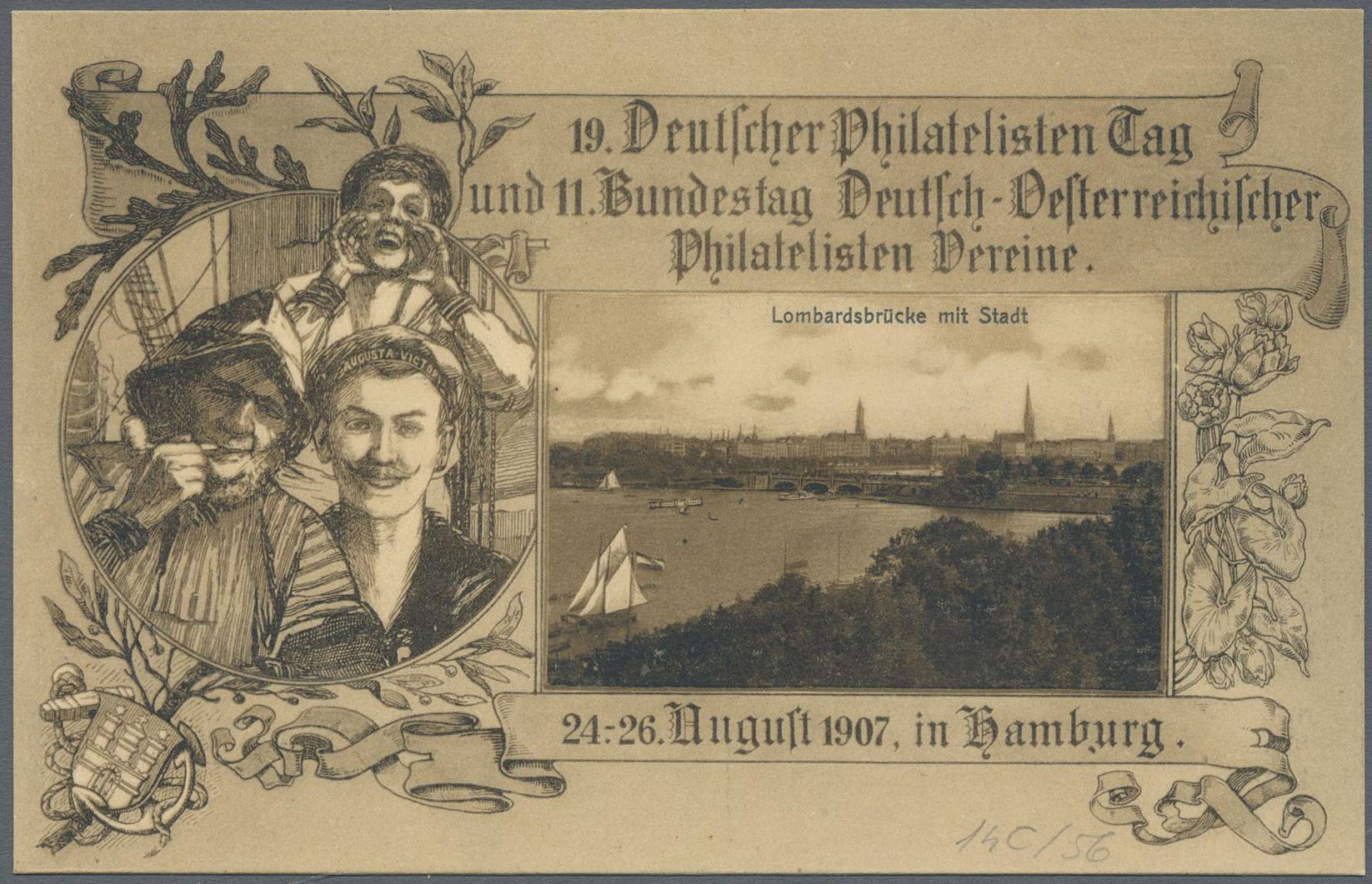 Lot 37138 - Deutsches Reich - Privatganzsachen  -  Auktionshaus Christoph Gärtner GmbH & Co. KG Collections Germany,  Collections Supplement, Surprise boxes #39 Day 7