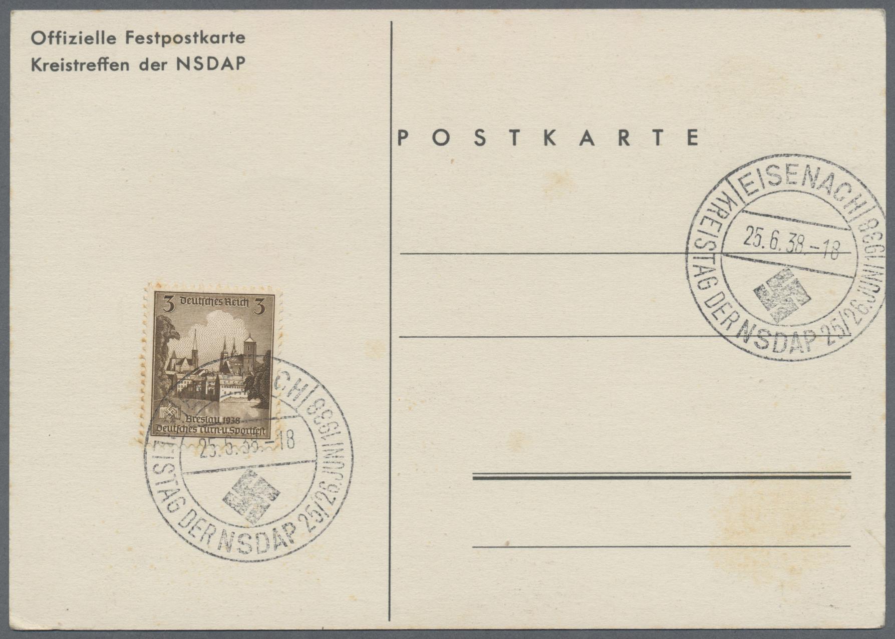 Lot 18234 - Ansichtskarten: Propaganda  -  Auktionshaus Christoph Gärtner GmbH & Co. KG Sale #46 Single lots Germany - and picture post cards