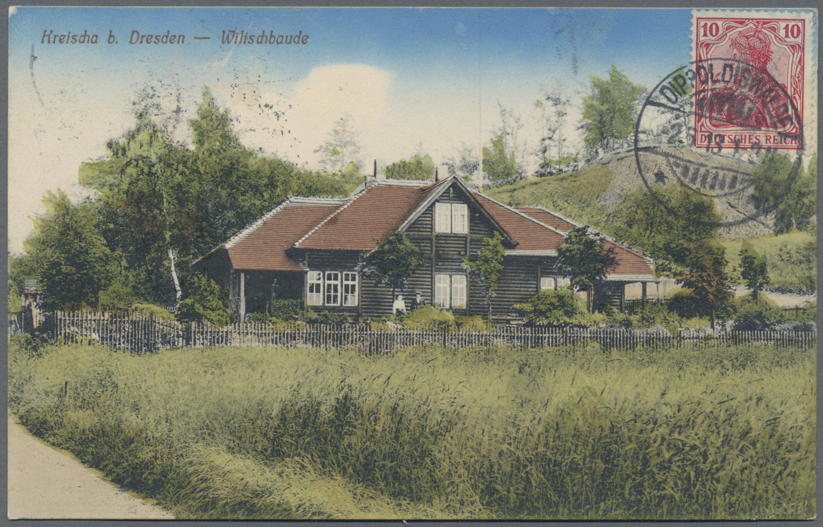Lot 04600 - Ansichtskarten: Sachsen  -  Auktionshaus Christoph Gärtner GmbH & Co. KG Sale #48 The Coins & The Picture Post Cards