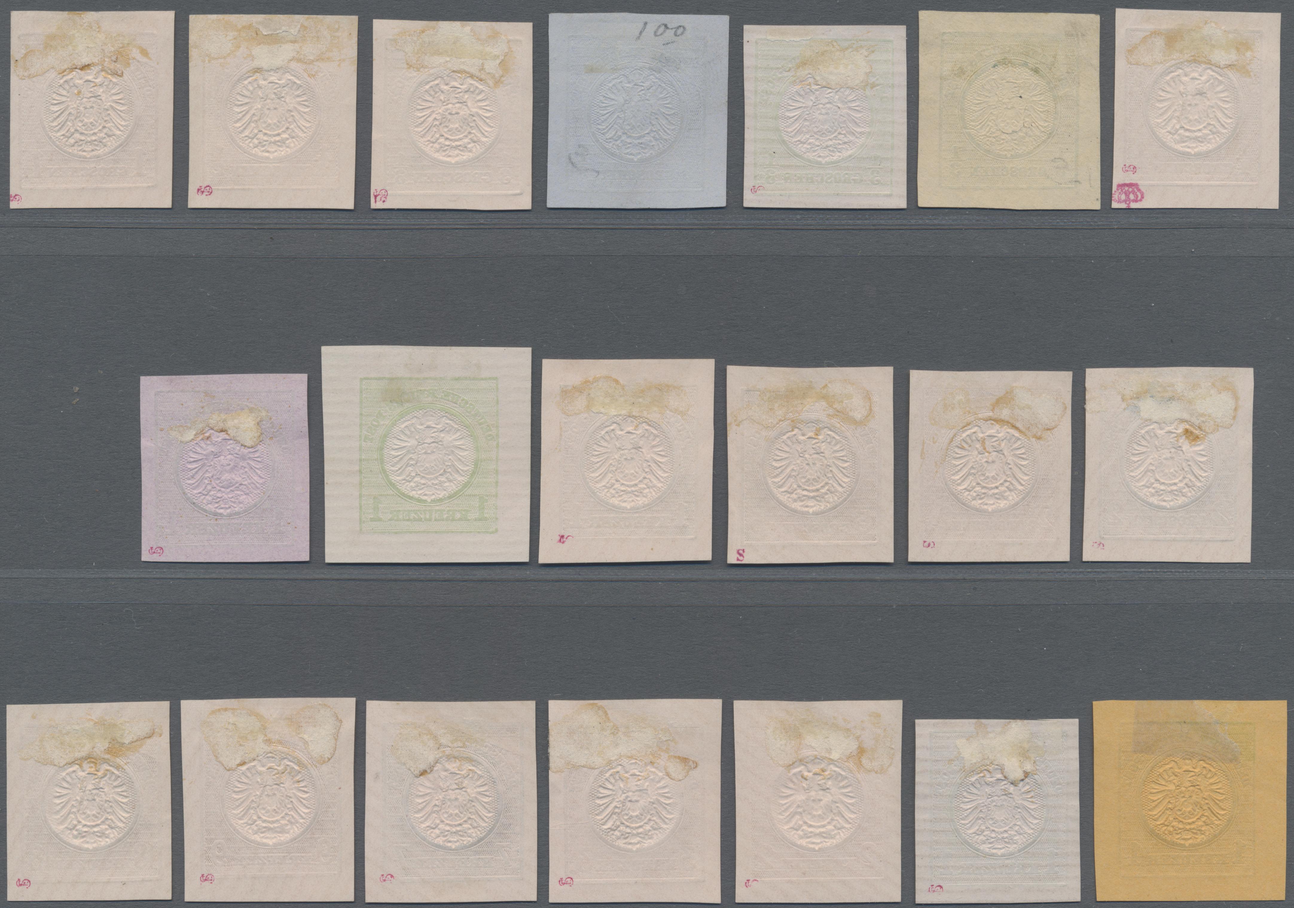 Lot 11711 - Deutsches Reich - Privatganzsachen  -  Auktionshaus Christoph Gärtner GmbH & Co. KG 50th Auction Anniversary Auction - Day 4