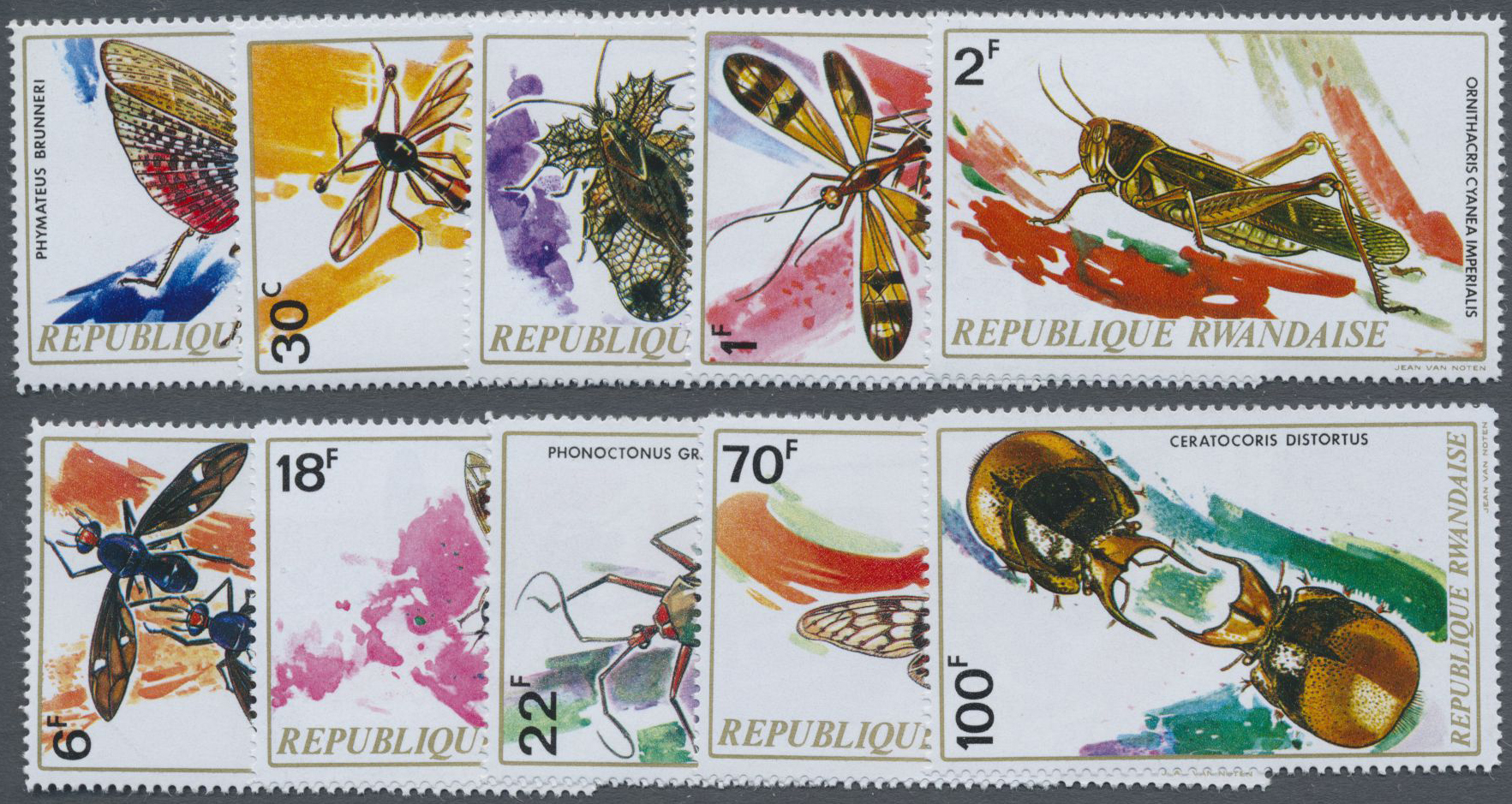 Lot 19884 - ruanda  -  Auktionshaus Christoph Gärtner GmbH & Co. KG Sale #47 Collections: Overseas, Thematics, Europe