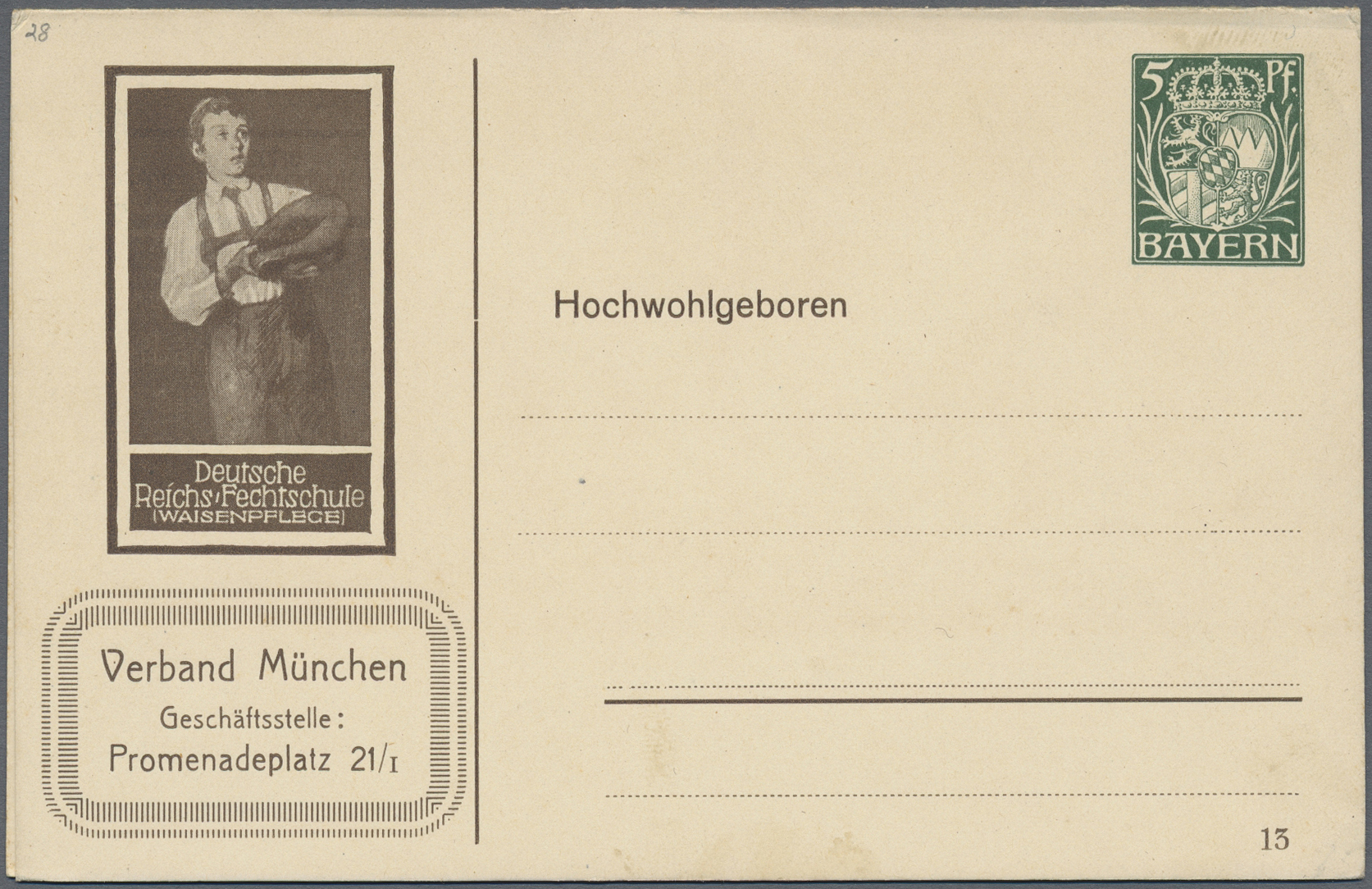 Lot 28005 - deutschland  -  Auktionshaus Christoph Gärtner GmbH & Co. KG Sale #46 Gollcetions Germany - including the suplement