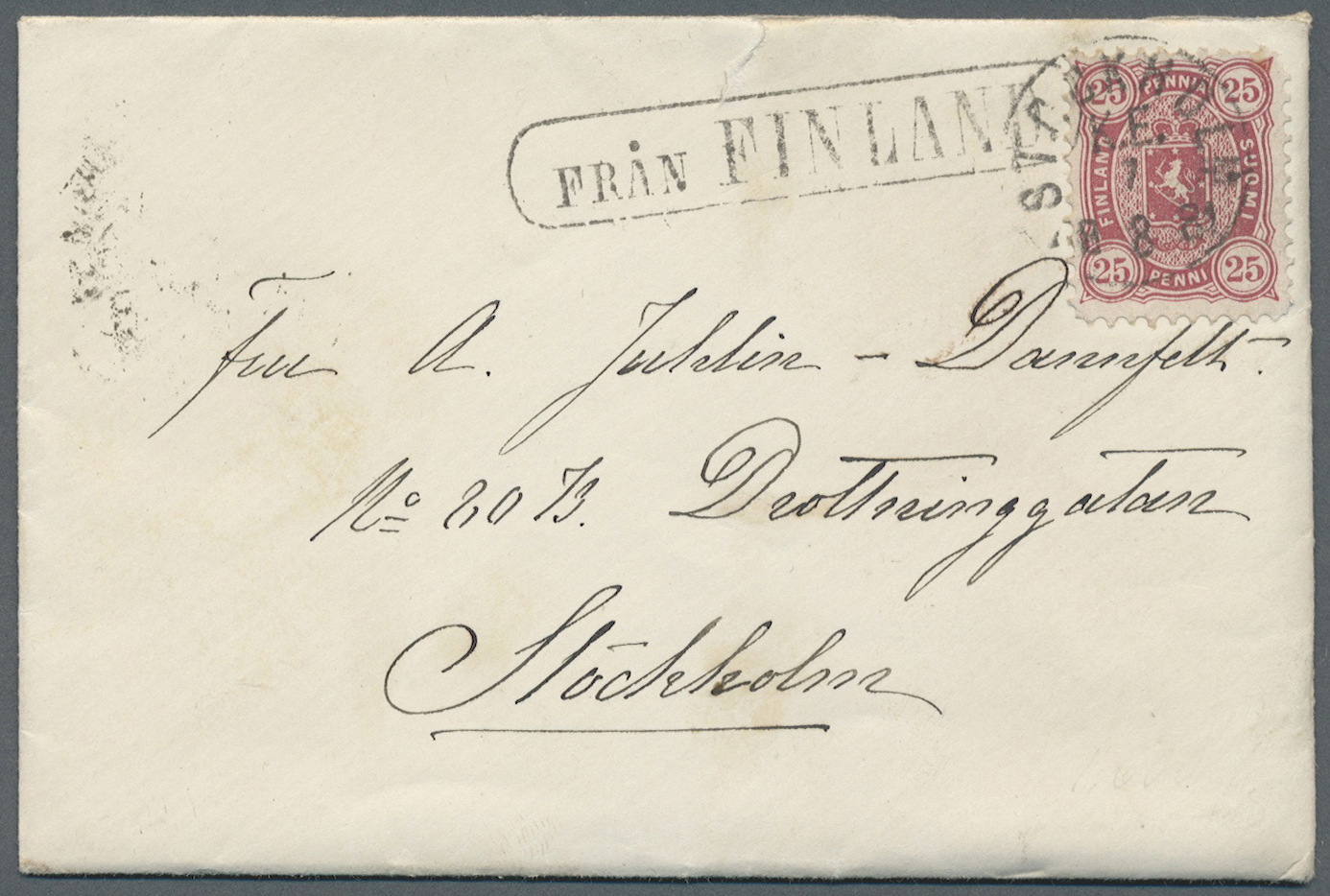 Lot 08938 - schiffspost alle welt  -  Auktionshaus Christoph Gärtner GmbH & Co. KG Sale #49 Single lots Asia, Thematics, Oversea, Europe, Old German States, Third Reich, German Colonies and the Federal Republic of Germany