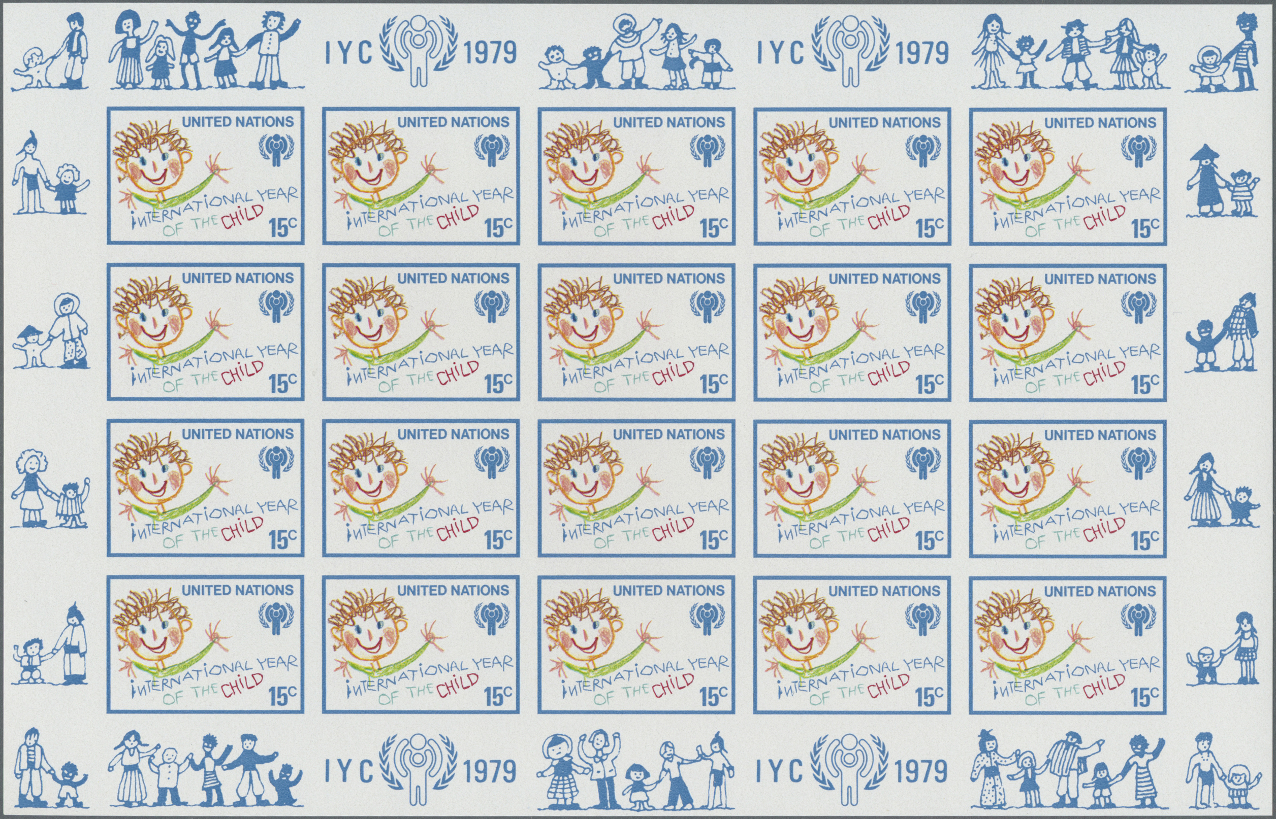 Lot 14809 - Vereinte Nationen - New York  -  Auktionshaus Christoph Gärtner GmbH & Co. KG Single lots Philately Overseas & Europe. Auction #39 Day 4