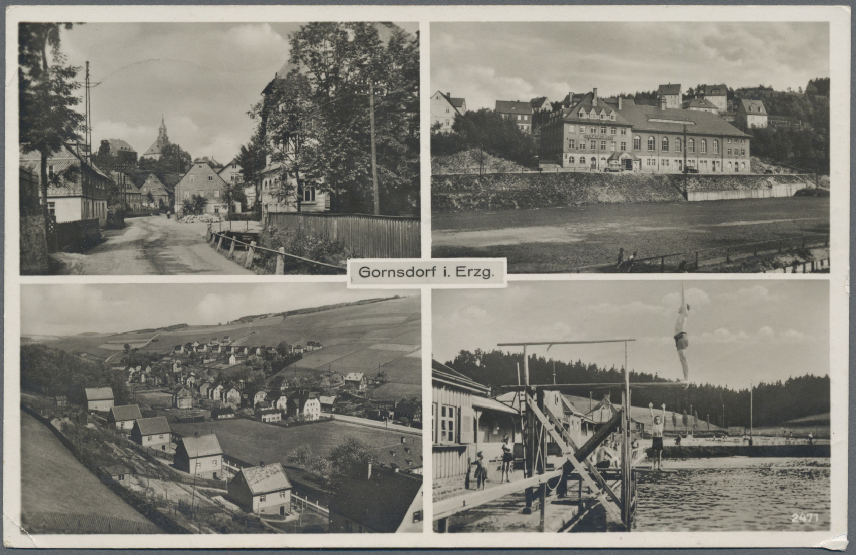 Lot 04593 - Ansichtskarten: Sachsen  -  Auktionshaus Christoph Gärtner GmbH & Co. KG Sale #48 The Coins & The Picture Post Cards