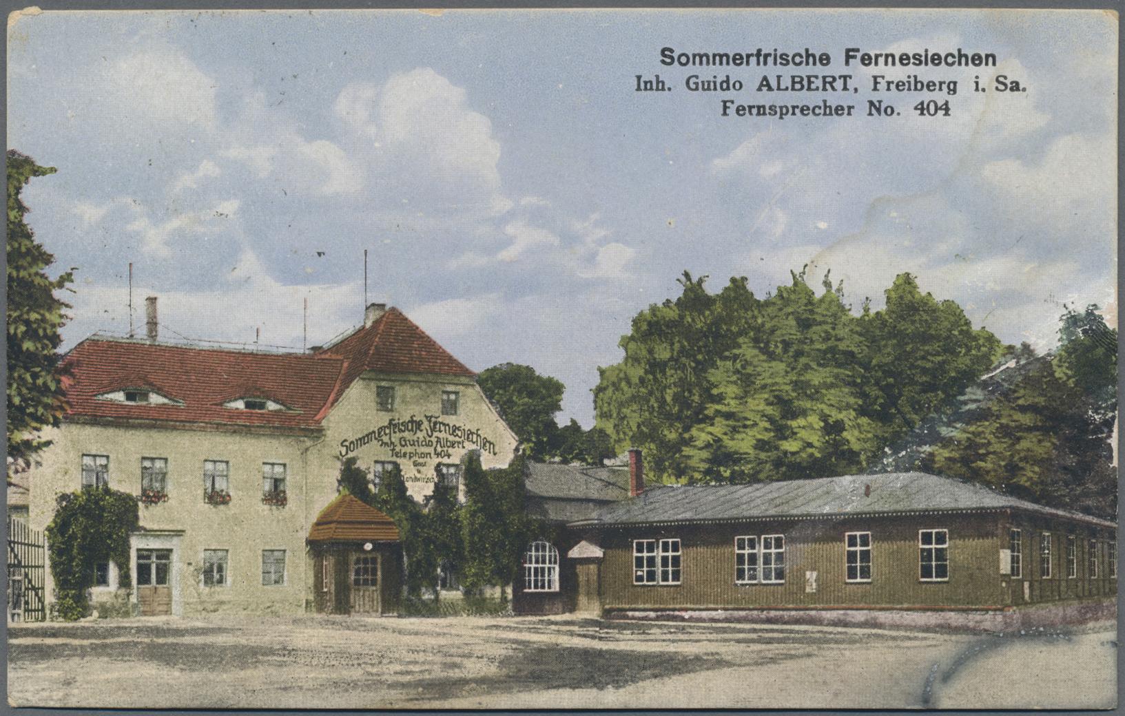Lot 04599 - Ansichtskarten: Sachsen  -  Auktionshaus Christoph Gärtner GmbH & Co. KG Sale #48 The Coins & The Picture Post Cards