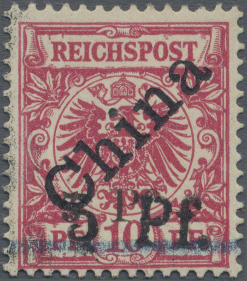 Lot 00171 - Deutsche Kolonien - Kiautschou  -  Auktionshaus Christoph Gärtner GmbH & Co. KG Intenational Rarities and contains lots from the collection of Peter Zgonc