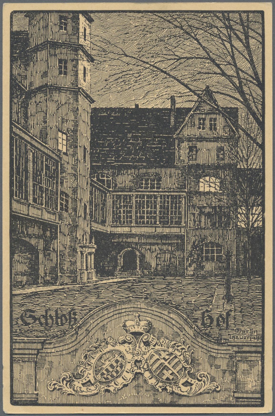 Lot 04603 - Ansichtskarten: Sachsen-Anhalt  -  Auktionshaus Christoph Gärtner GmbH & Co. KG Sale #48 The Coins & The Picture Post Cards