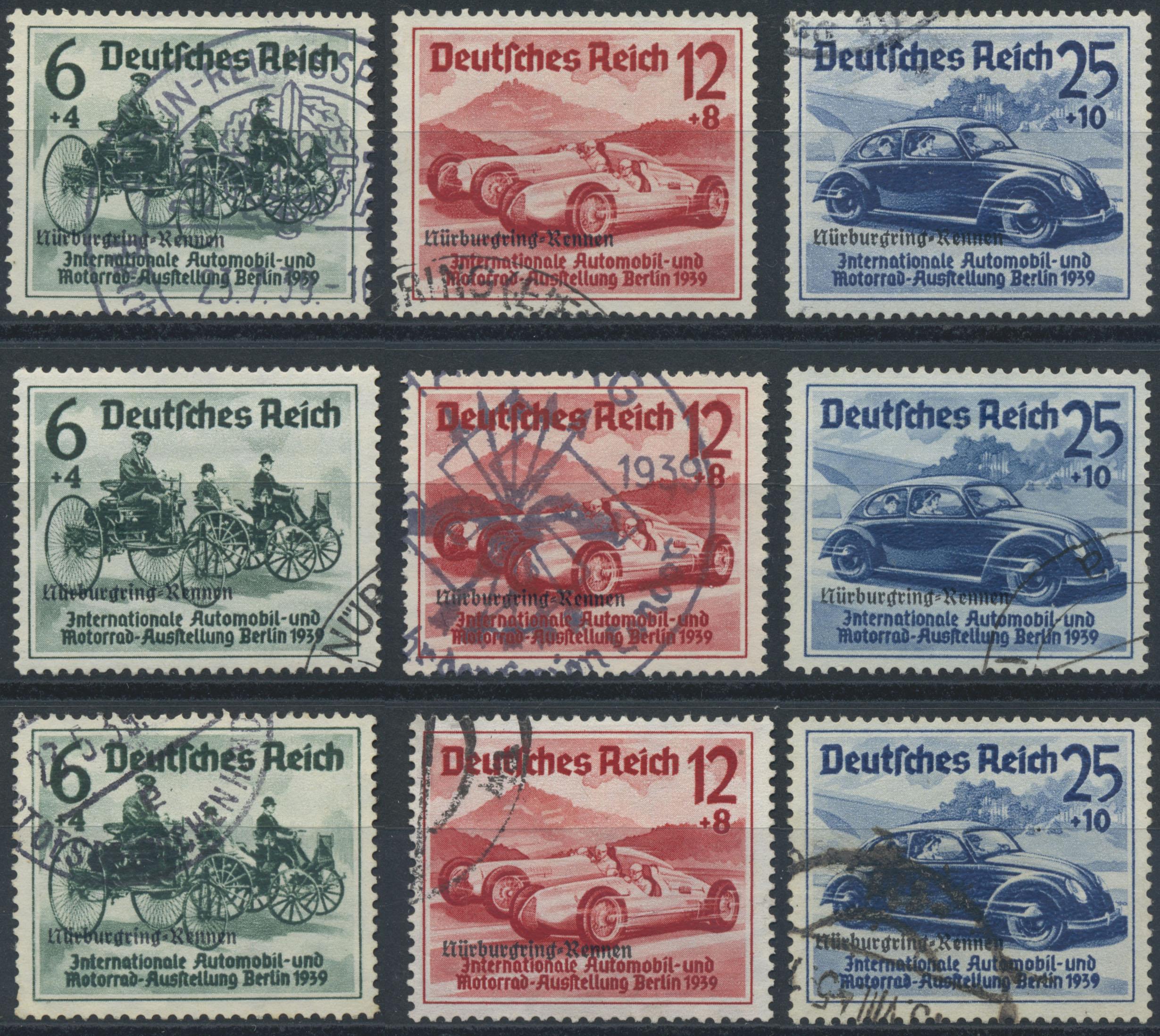 Lot 36690 - Deutsches Reich - 3. Reich  -  Auktionshaus Christoph Gärtner GmbH & Co. KG Sale #44 Collections Germany
