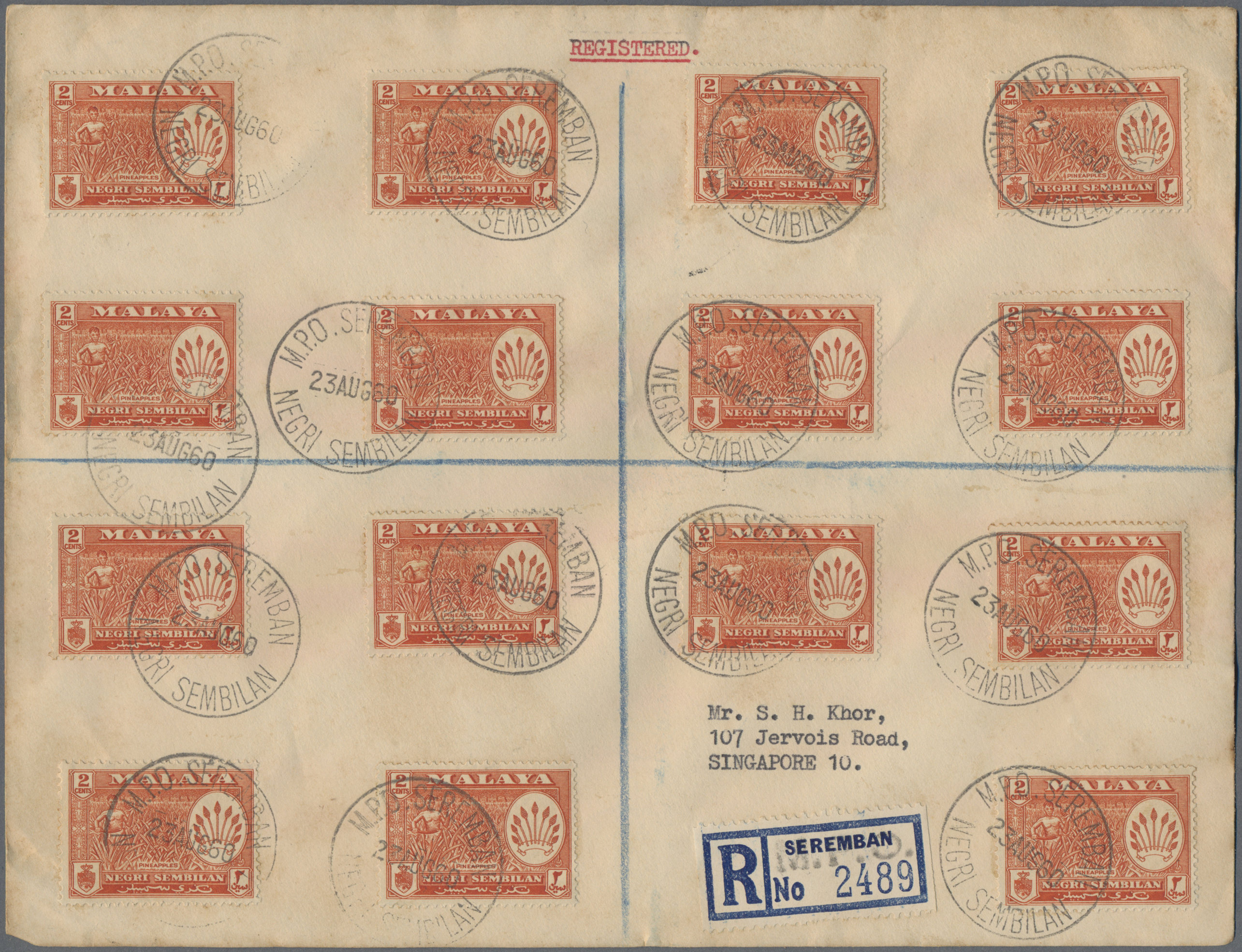 Lot 34715 - Malaiische Staaten - Negri Sembilan  -  Auktionshaus Christoph Gärtner GmbH & Co. KG Sale #44 Collections Germany