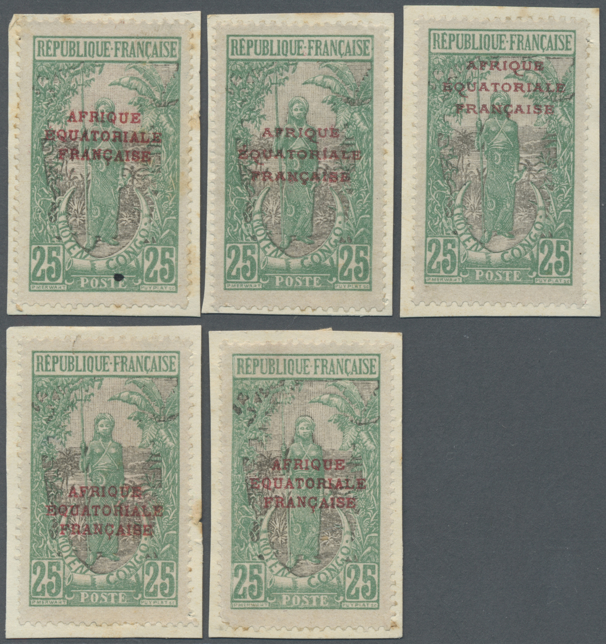 Lot 14112 - mittelkongo  -  Auktionshaus Christoph Gärtner GmbH & Co. KG Single lots Philately Overseas & Europe. Auction #39 Day 4