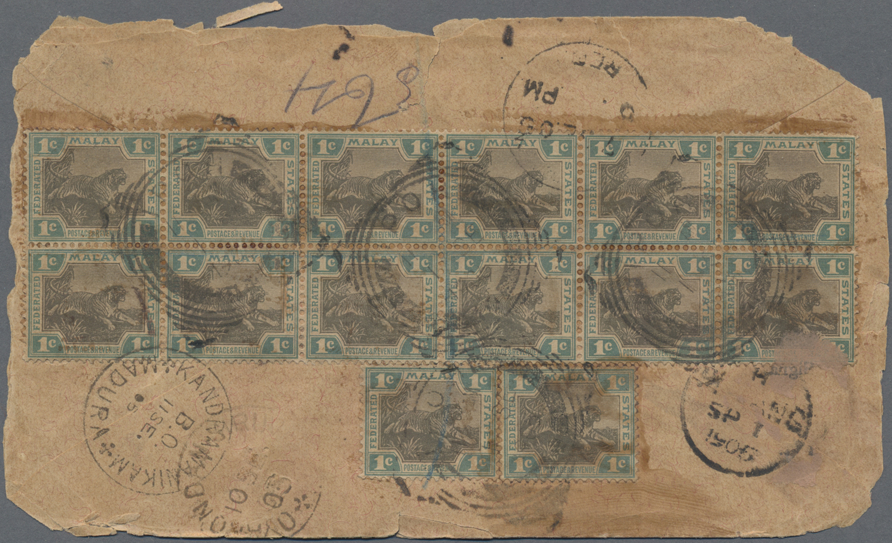 Lot 34720 - Malaiische Staaten - Perak  -  Auktionshaus Christoph Gärtner GmbH & Co. KG Sale #44 Collections Germany